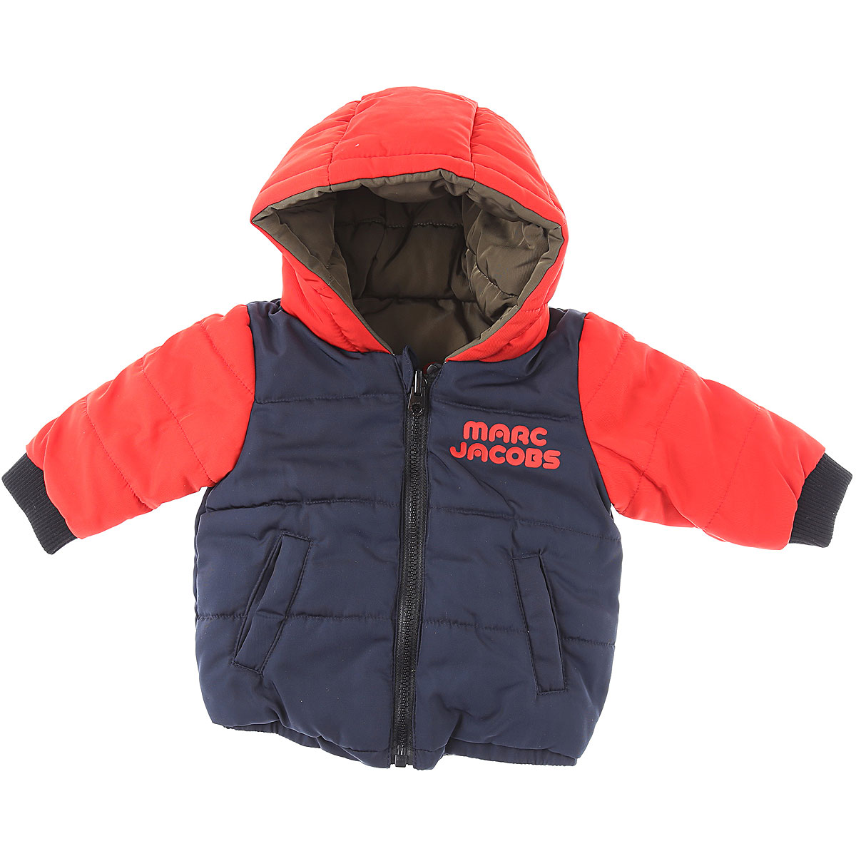 Marc Jacobs Baby Down Jacket for Boys On Sale, Blue, polyester, 2019, 12 M 18M 2Y 3M 6M 9M