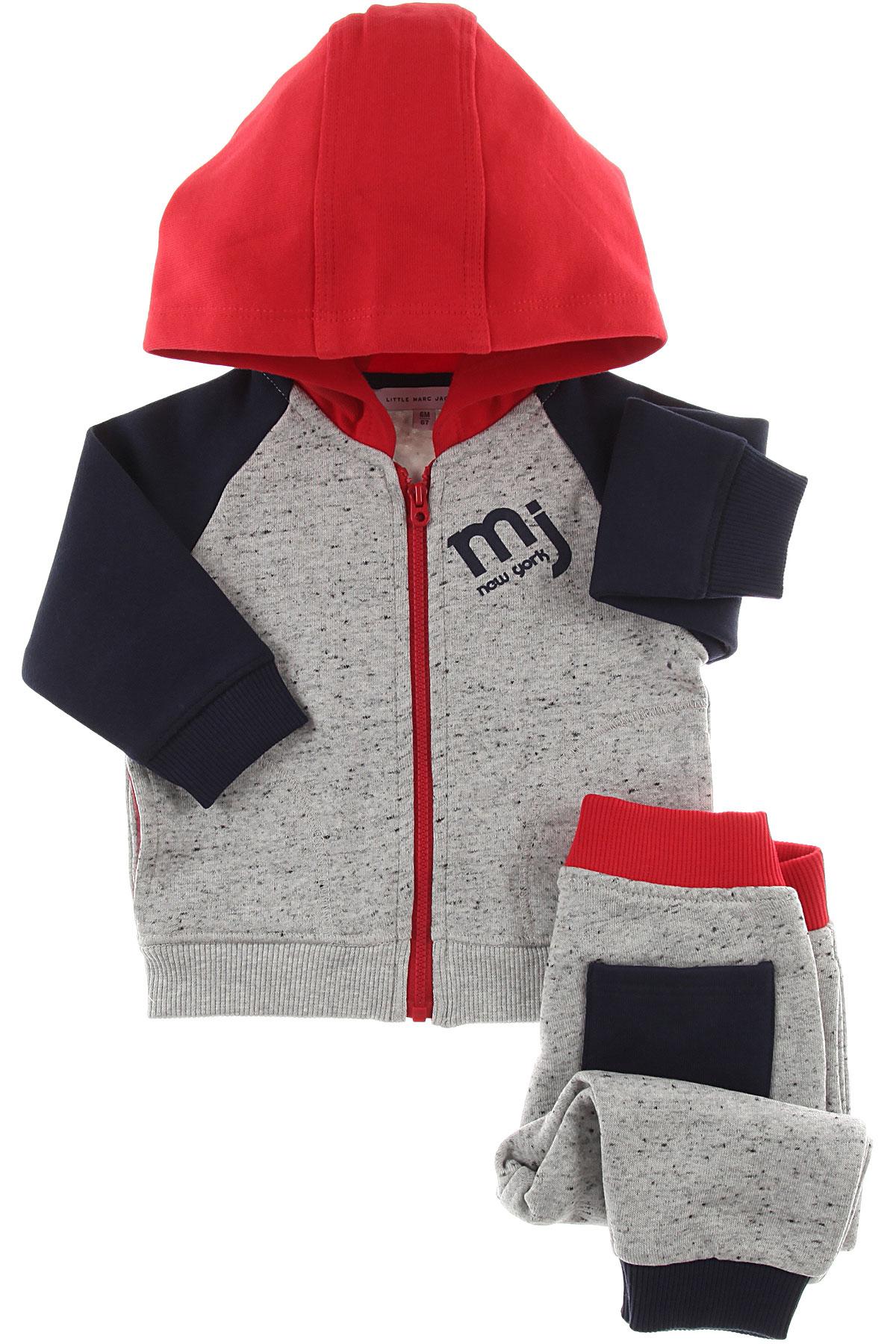 Image of Marc Jacobs Baby Sweatshirts & Hoodies for Boys, Grey Melange, Cotton, 2017, 12M 18M 2Y 3Y 6M 9M