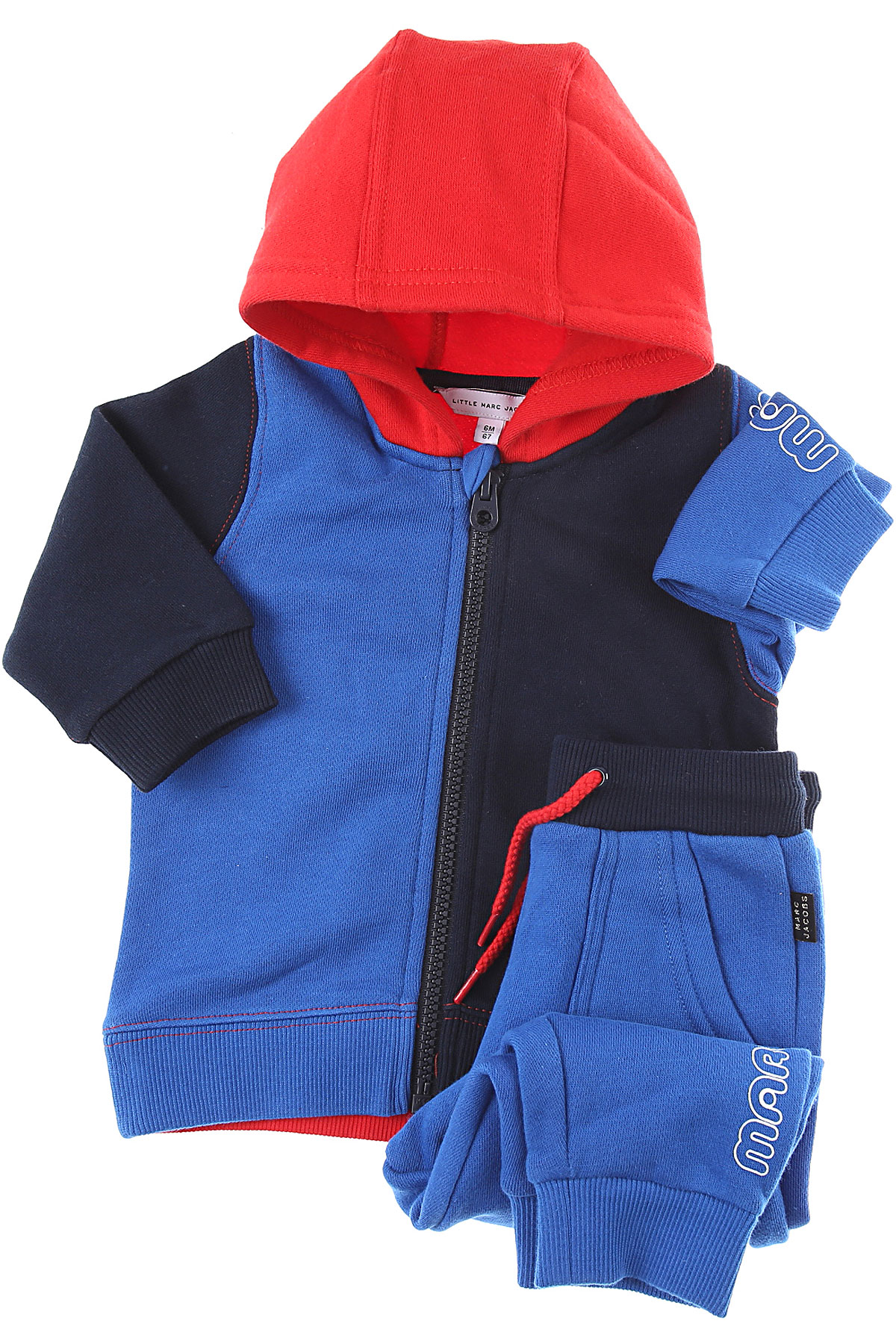 Marc Jacobs Baby Sets for Boys On Sale, Blue, Cotton, 2019, 2Y 2Y 3Y 6M 9M