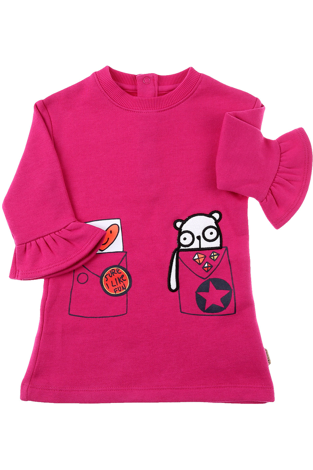 Marc Jacobs Baby Dress for Girls On Sale, Magenta, Cotton, 2019, 12M 18M 2Y 3Y 6M 9M