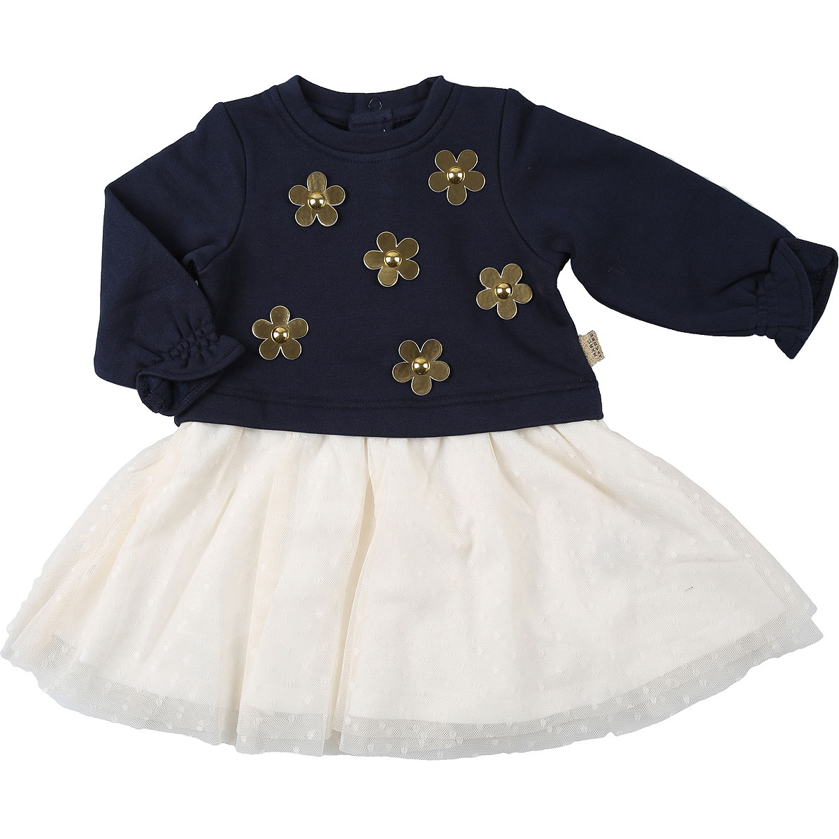 Marc Jacobs Baby Dress for Girls On Sale, Blue, Cotton, 2019, 12M 2Y