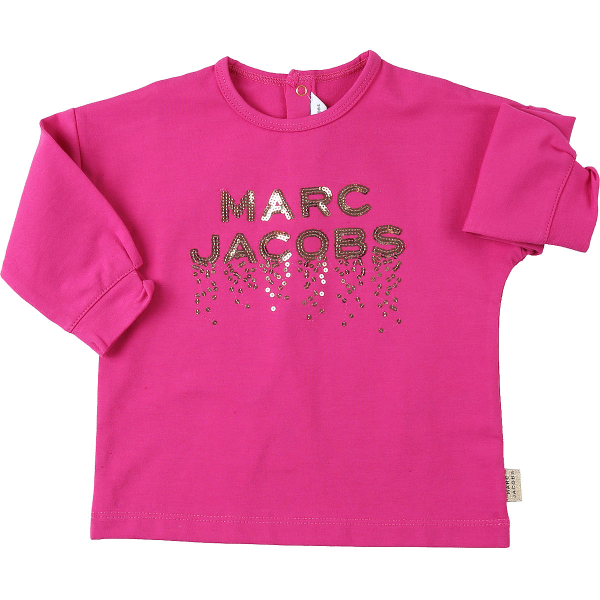 Marc Jacobs Baby T-Shirt for Girls On Sale, Fuchsia, polyester, 2019, 12M 18M 2Y 6M 9M