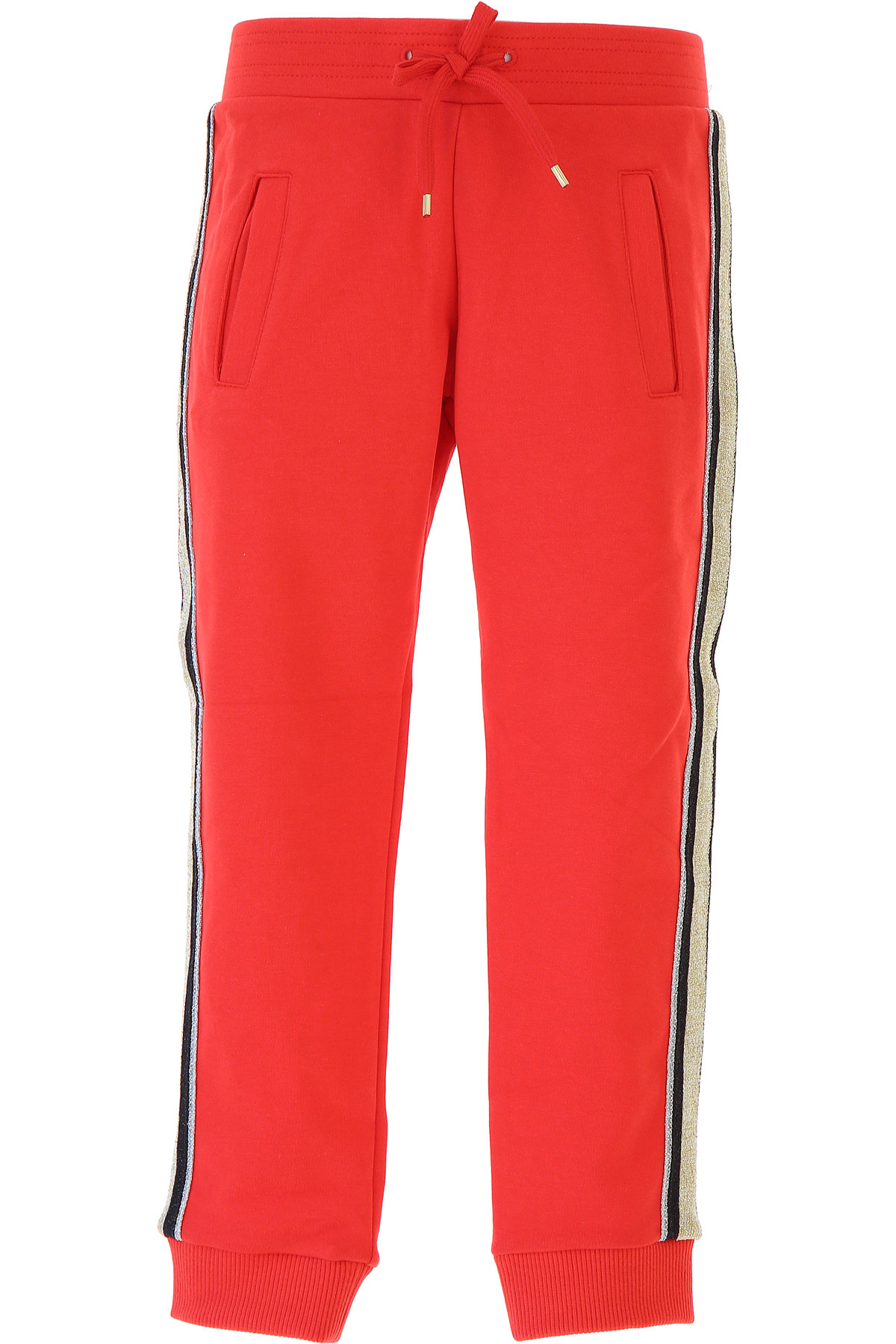 Image of Marc Jacobs Kids Sweatpants for Girls, Red, Cotton, 2017, 10Y 14Y 4Y 6Y 8Y