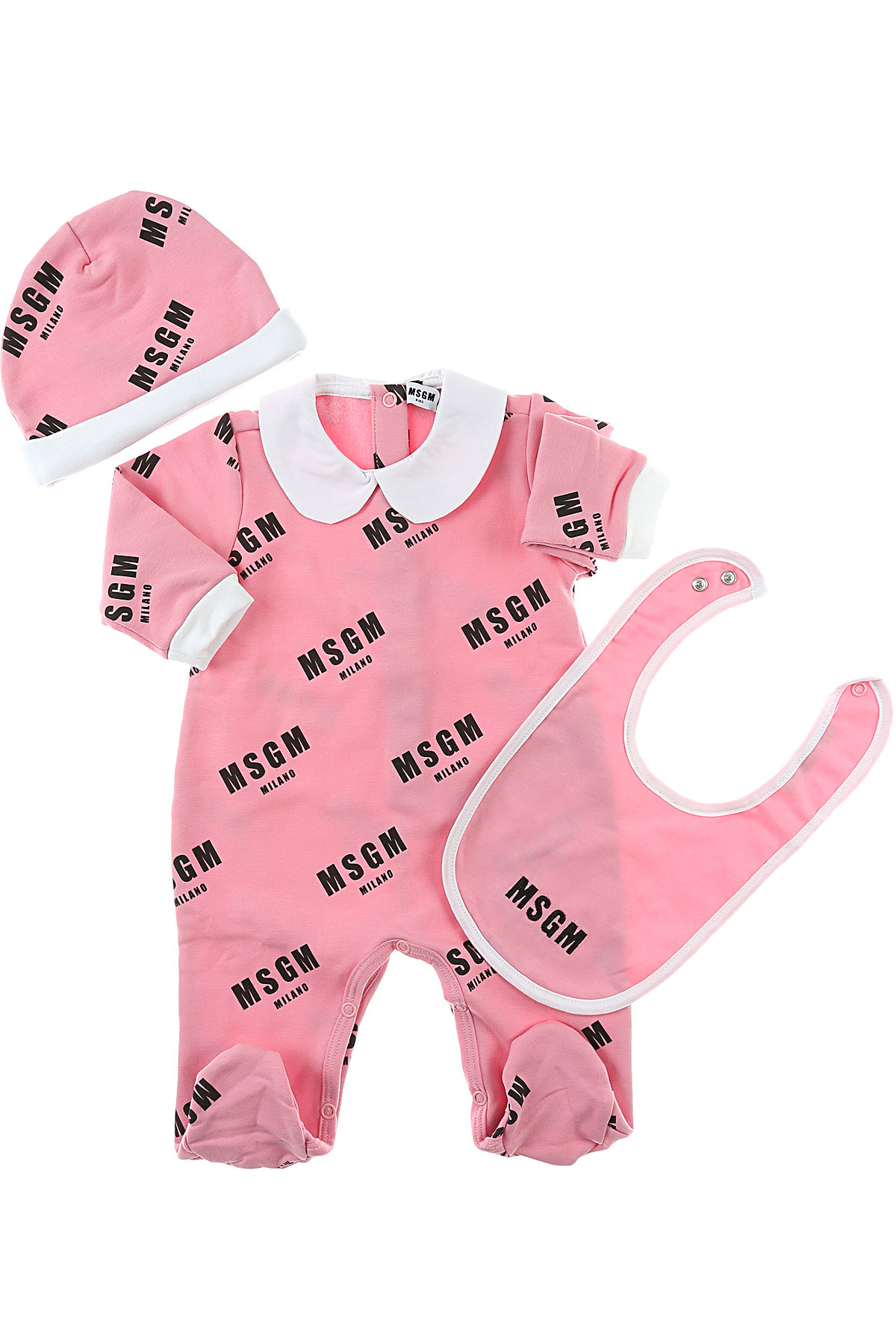 Image of MSGM Baby Sets for Girls, Pink, Cotton, 2017, 12M 18M 6M 9M