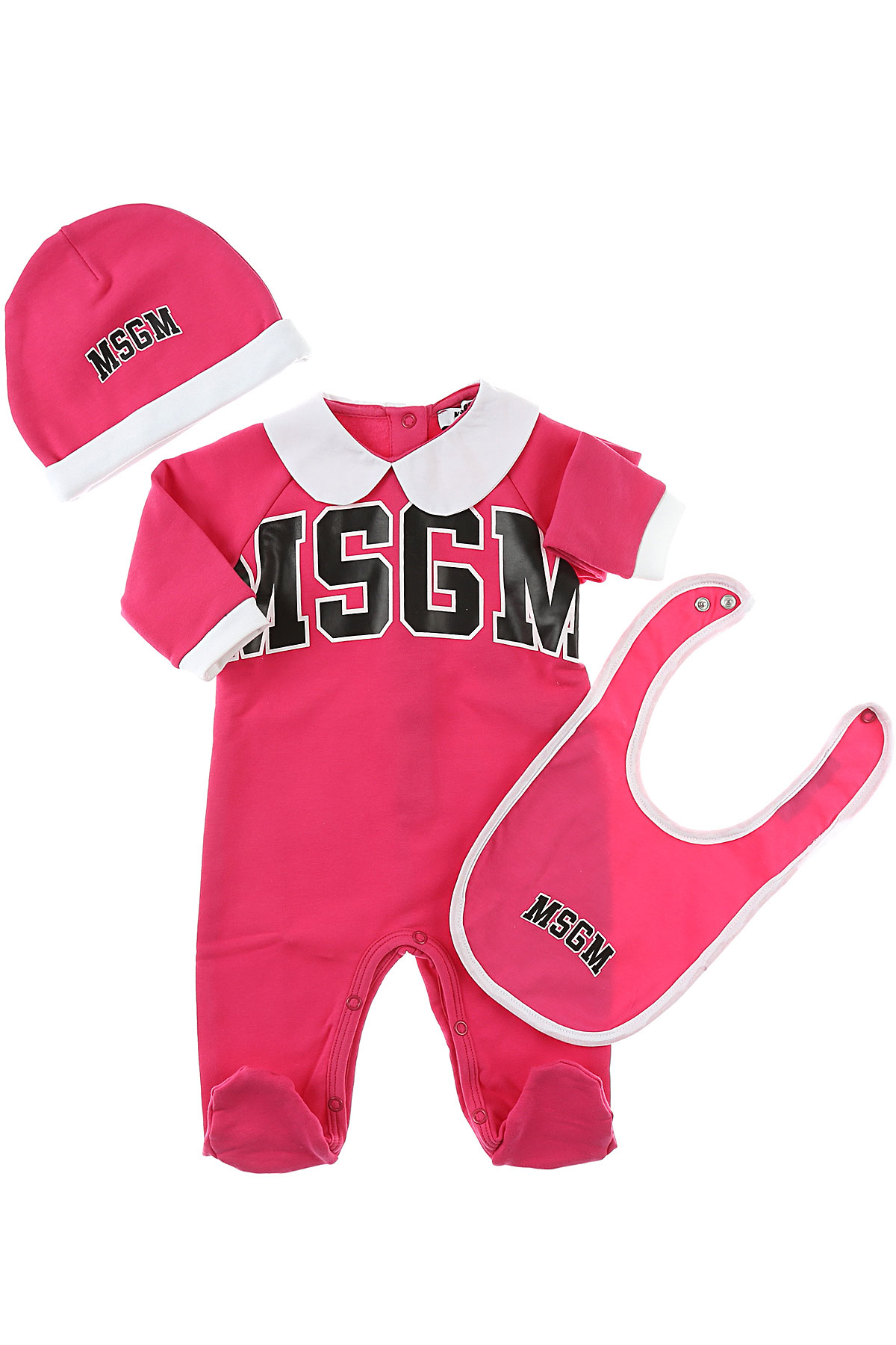 Image of MSGM Baby Sets for Girls, Fuchsia, Cotton, 2017, 12M 18M 6M 9M