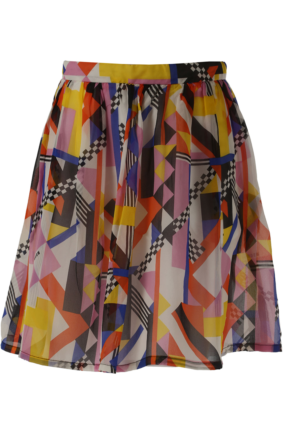 MSGM Kids Skirts for Girls On Sale in Outlet, Multicolor, Silk, 2017, 14Y 6Y
