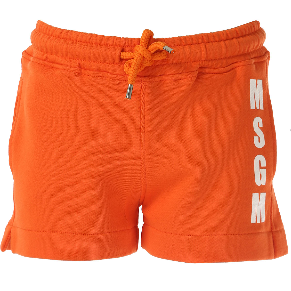 MSGM Kids Shorts for Girls On Sale in Outlet, Orange, Cotton, 2017, 4Y