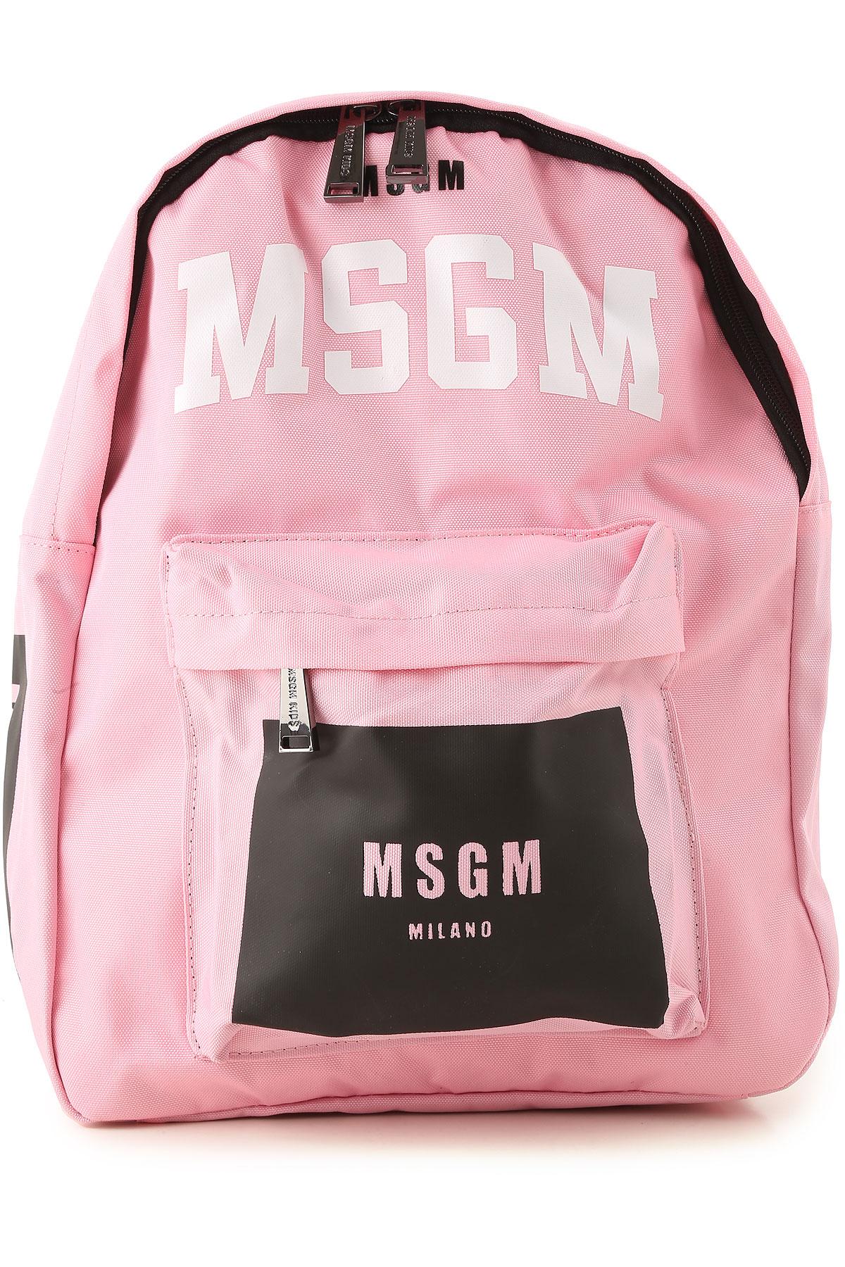 Image of MSGM Girls Handbag, Pink, Nylon, 2017