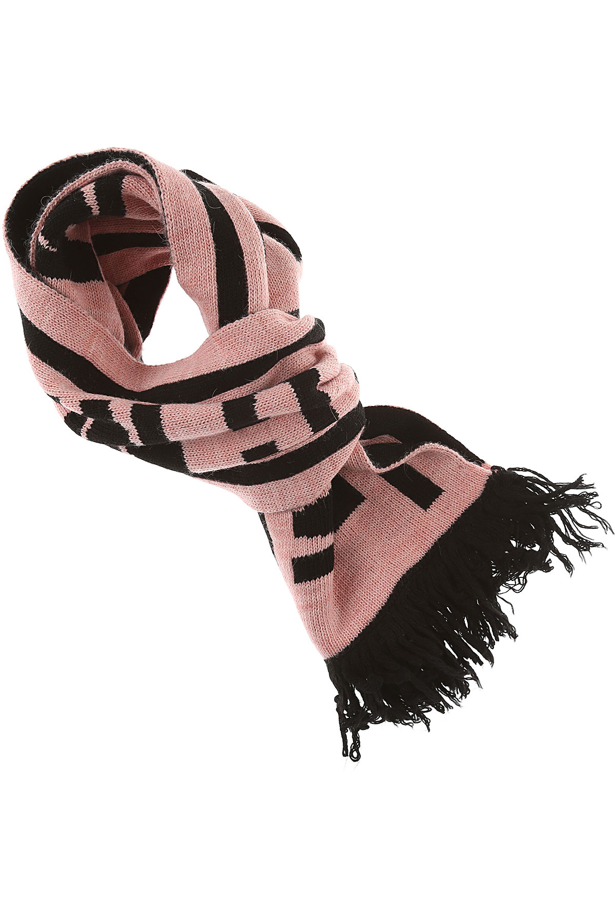 MSGM Kids Scarves for Girls, Pink, Acrylic, 2017
