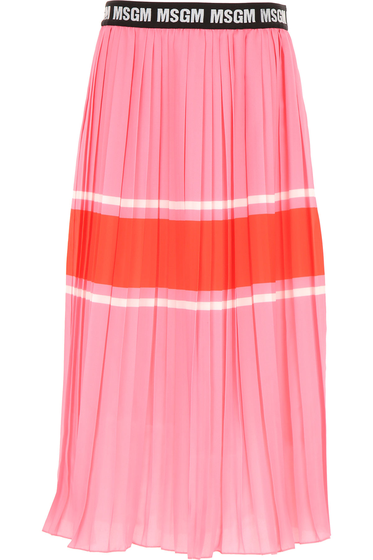 MSGM Kids Skirts for Girls, Pink, polyester, 2017, 10Y 8Y
