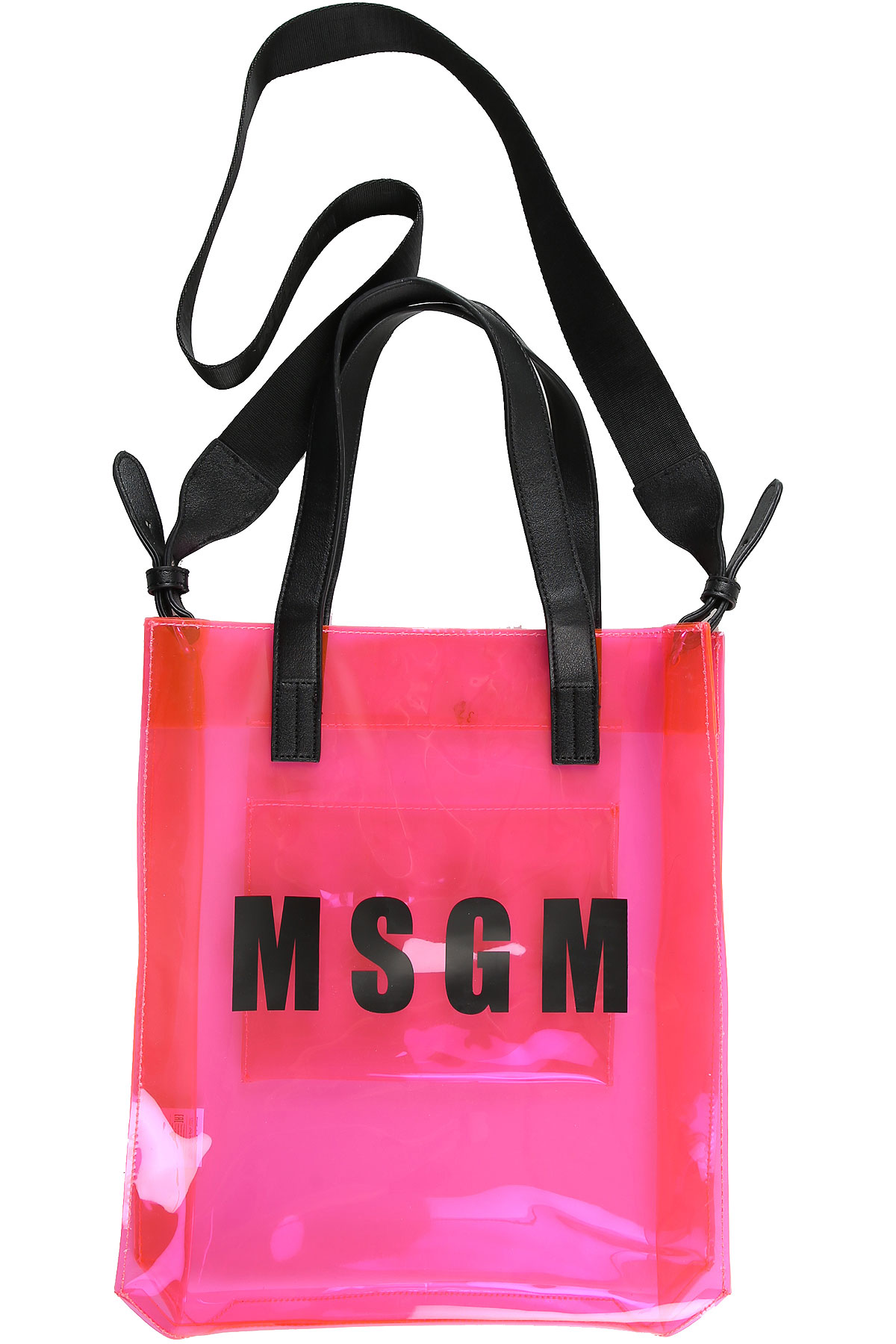 MSGM Accessories, Fluo Pink, PVC, 2017
