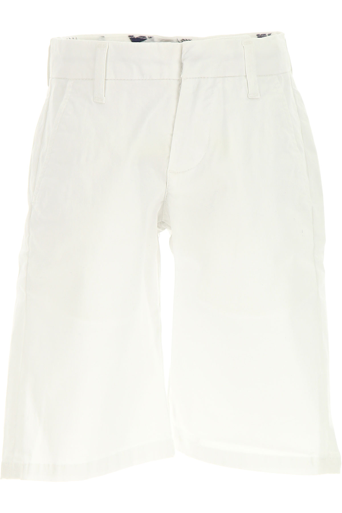 MSGM Kids Shorts for Boys On Sale in Outlet, White, Cotton, 2017, 6Y 8Y