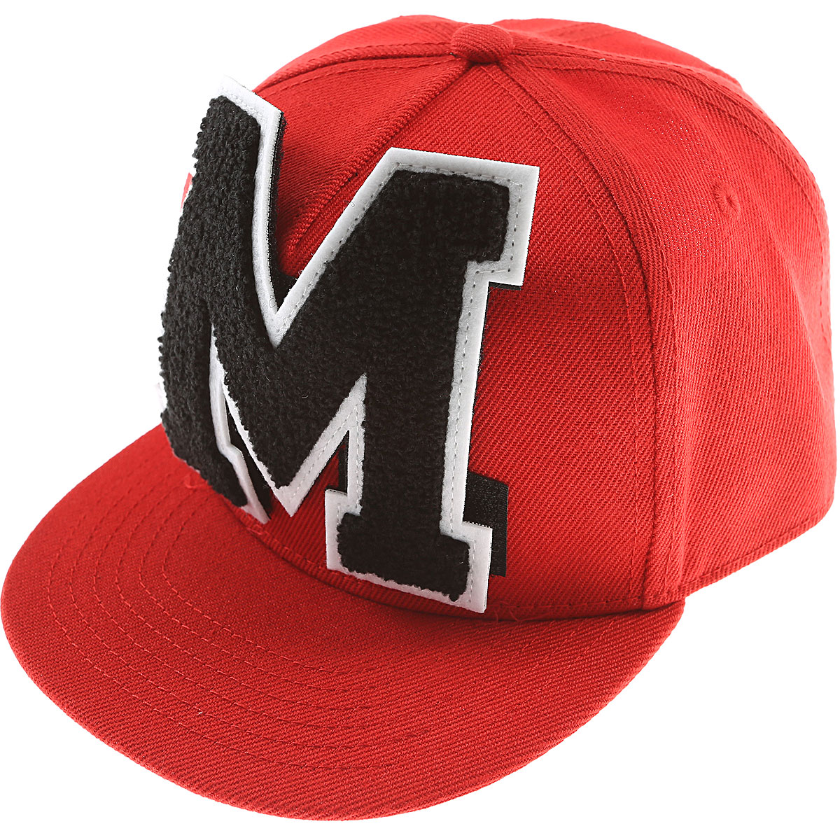 Image of MSGM Kids Hats for Boys, Red, polyester, 2017