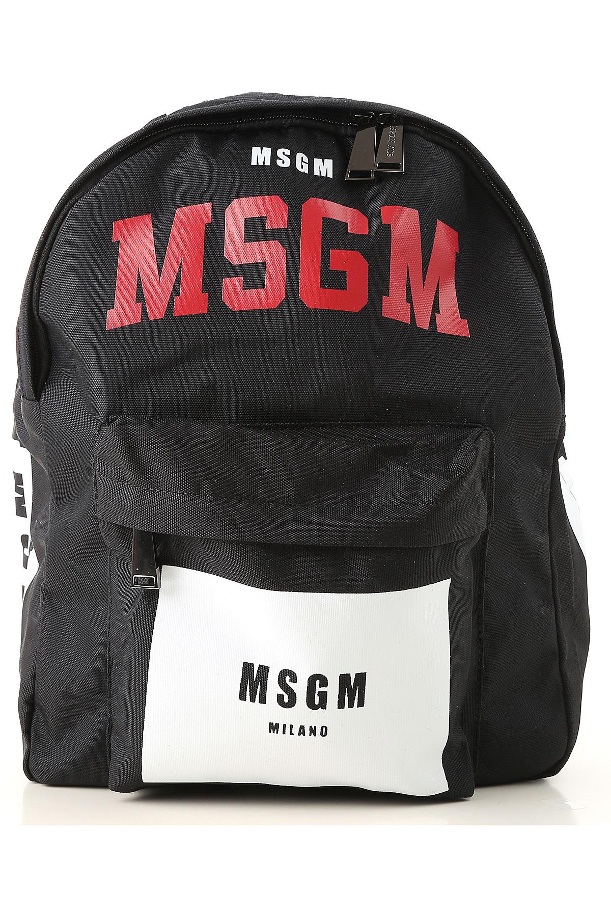 Image of MSGM Handbags, Black, Nylon, 2017