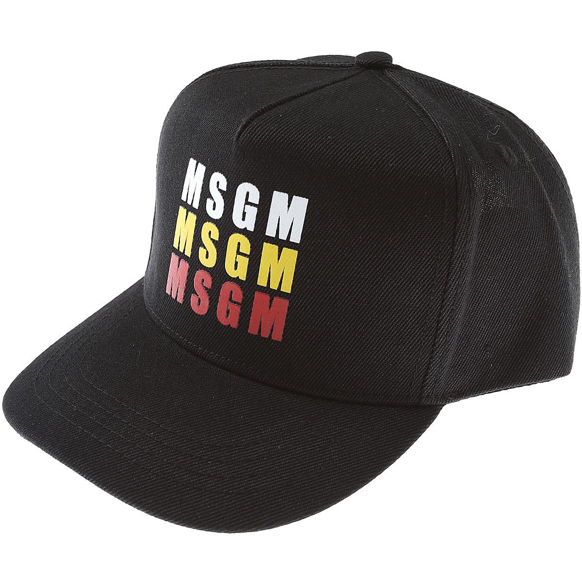 MSGM Accessories, Black, polyester, 2017