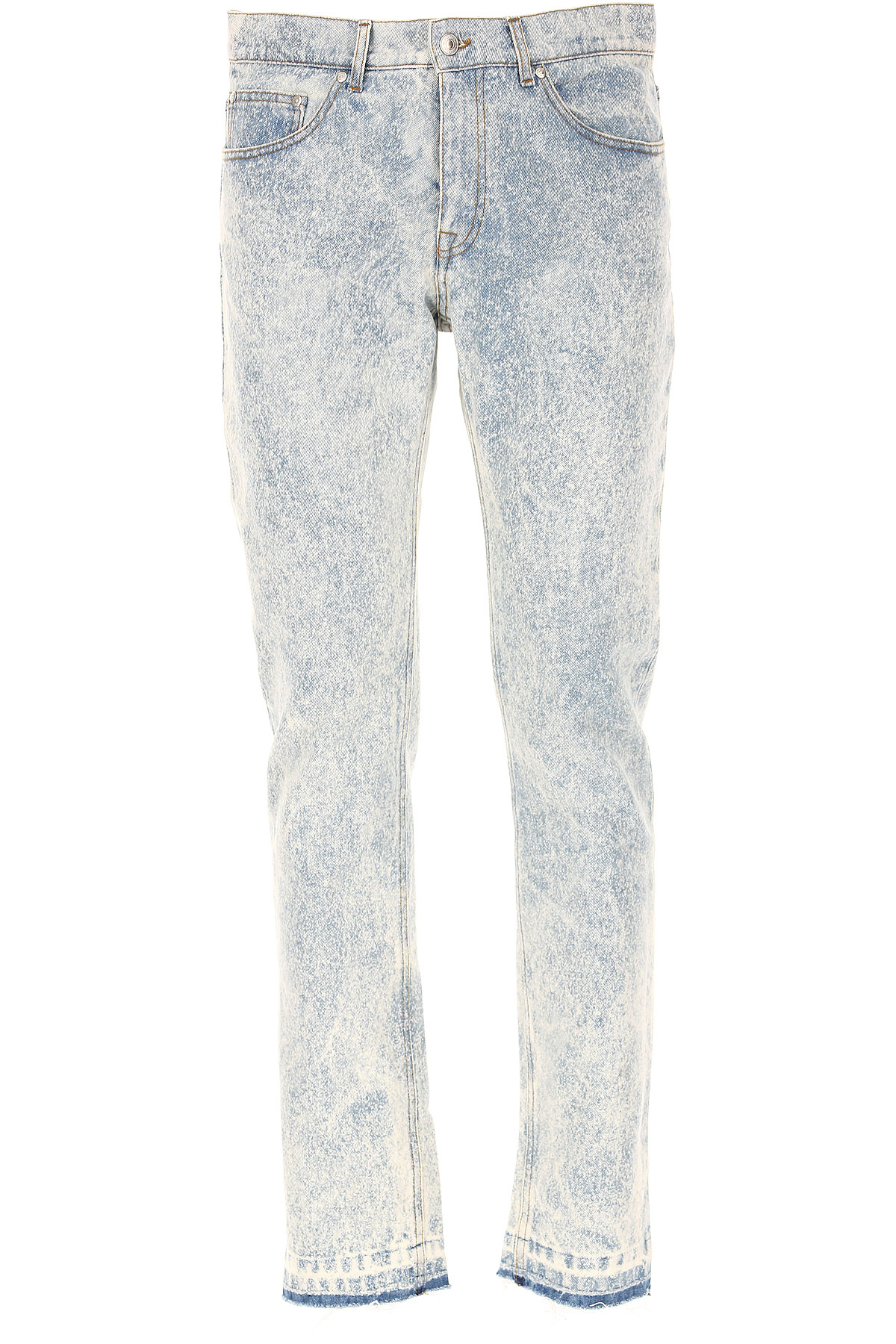 MSGM Jeans On Sale in Outlet, Denim Light Blue, Cotton, 2017, 32 34
