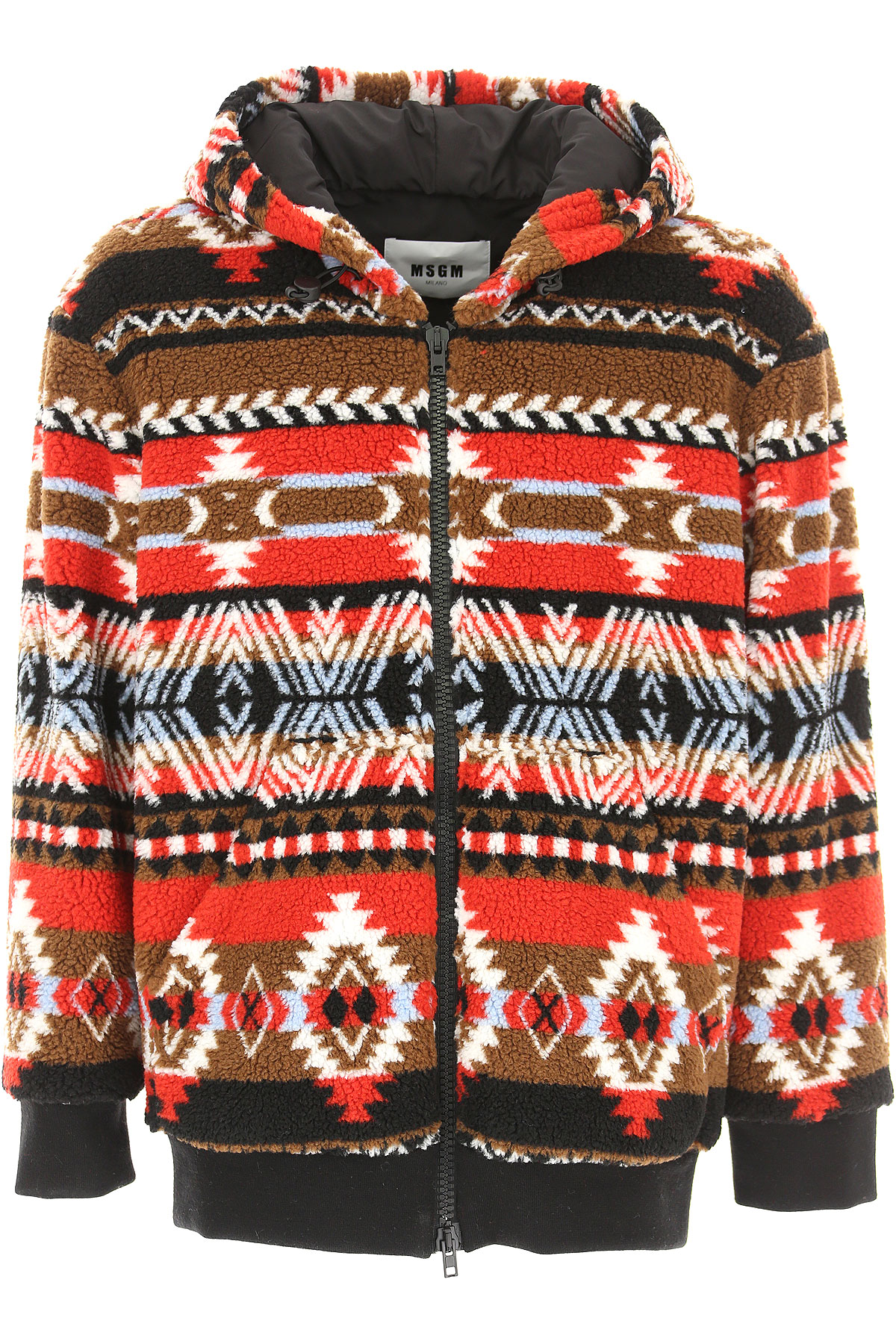 Image of MSGM Jacket for Men, Red, polyester, 2017, M S XS