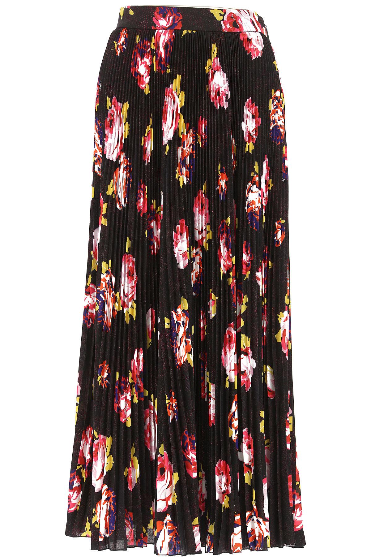 MSGM Skirt for Women, Black, polyestere, 2017, 26 28