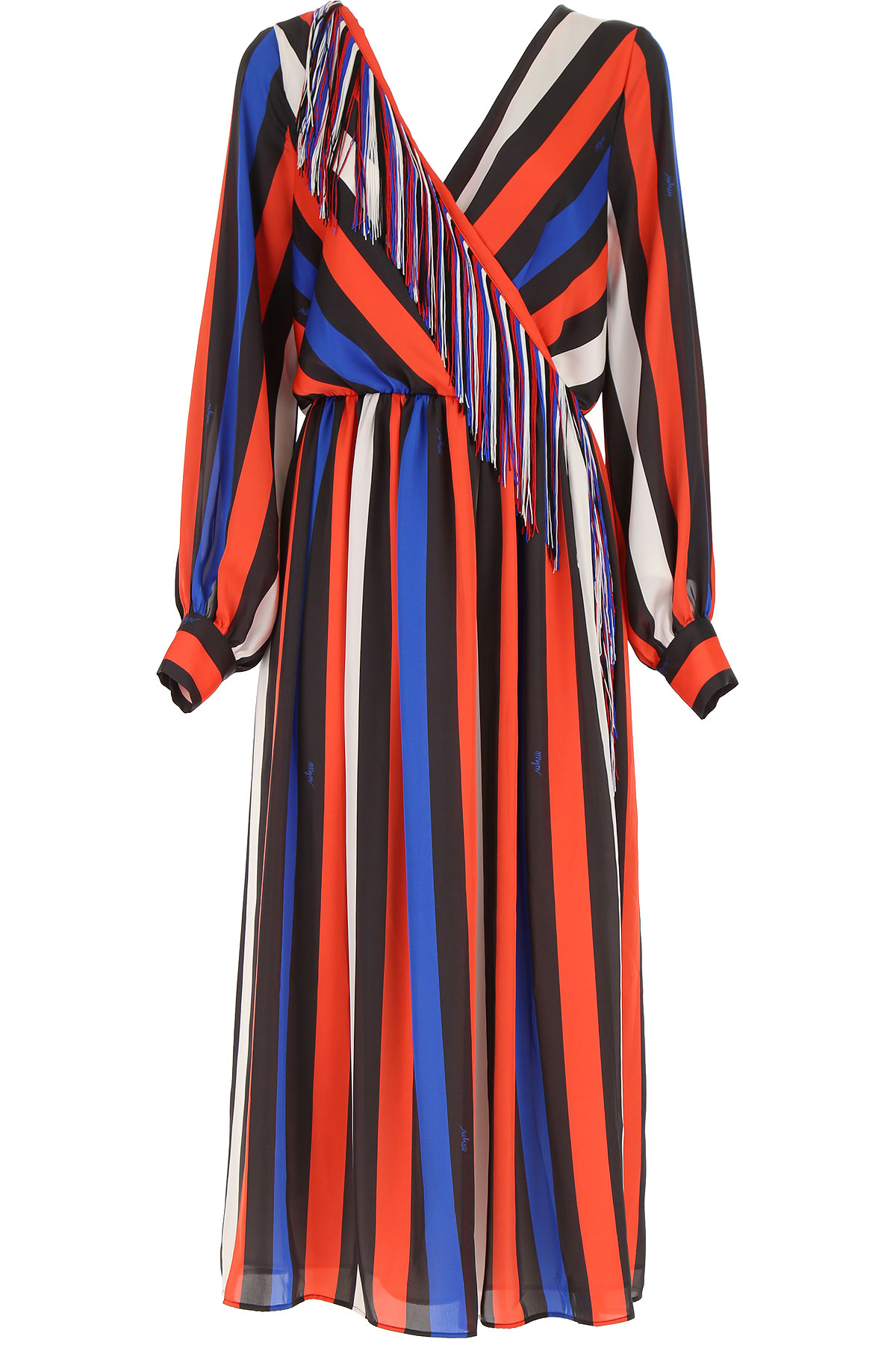 MSGM Dress for Women, Evening Cocktail Party, Multicolor, polyester, 2017, 8 8