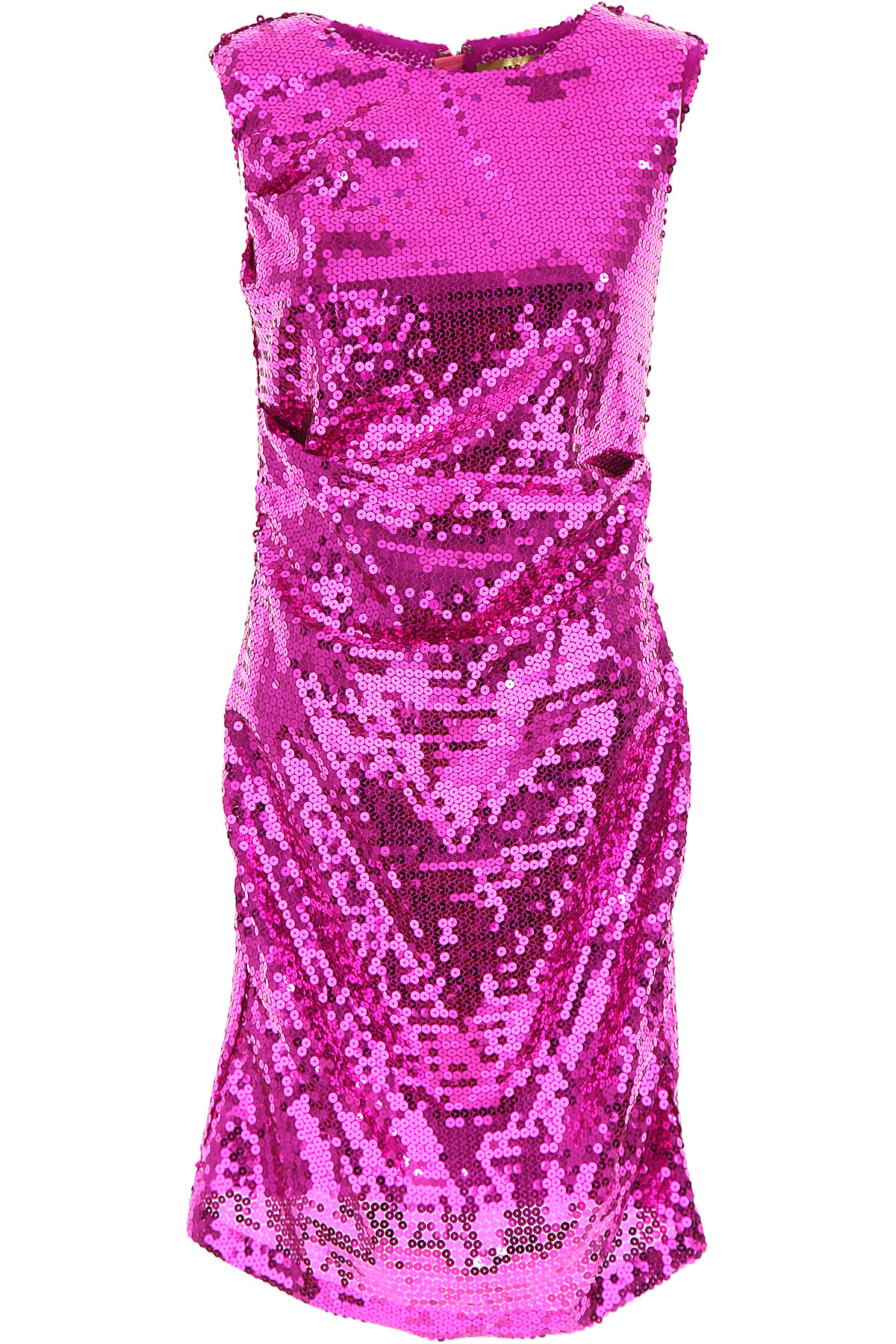 MSGM Dress for Women, Evening Cocktail Party, Fuchsia, polyester, 2017, 4 6