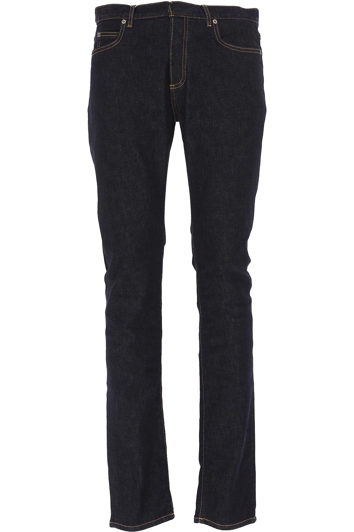Maison Martin Margiela Jeans On Sale, Dark Blue Denim, Cotton, 2017, 30 32 33 34 USA-428020