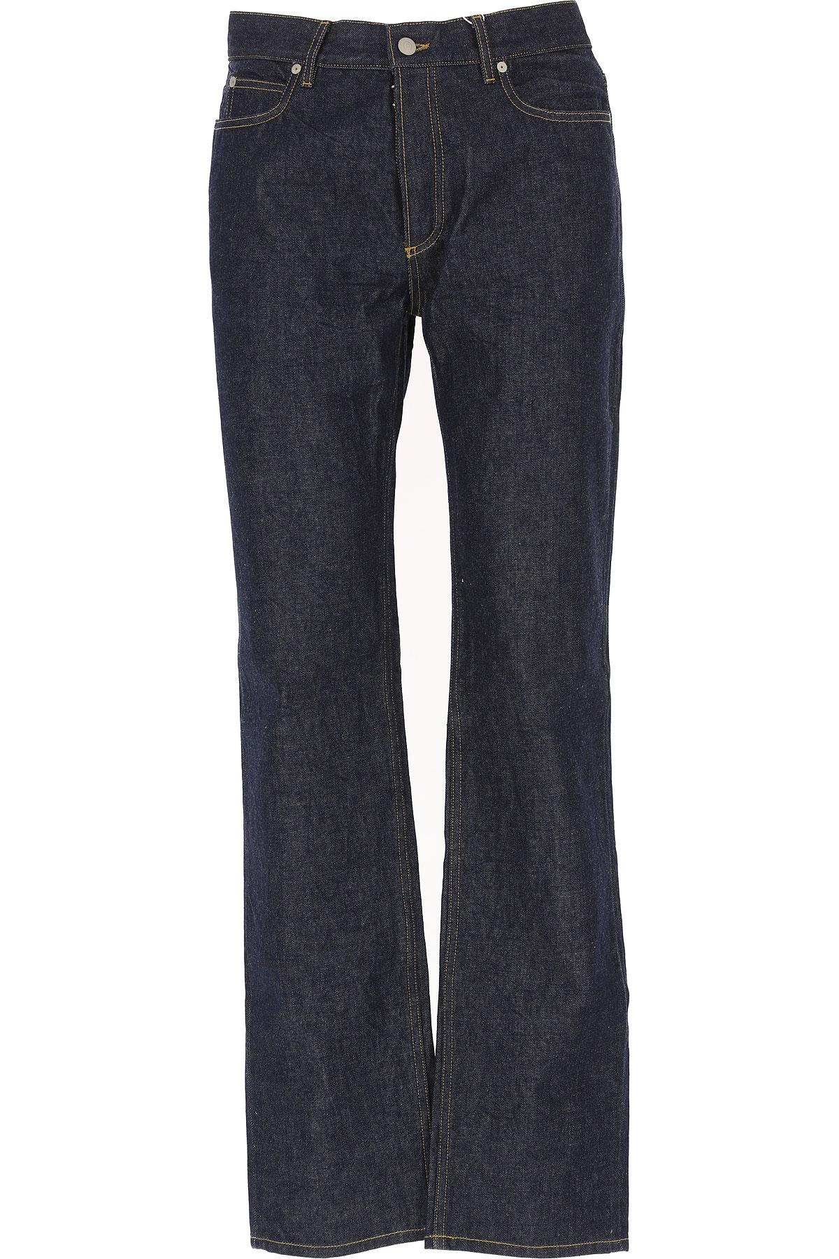 Maison Martin Margiela Jeans On Sale, Denim Blue, Cotton, 2017, 30 31 32 USA-462300