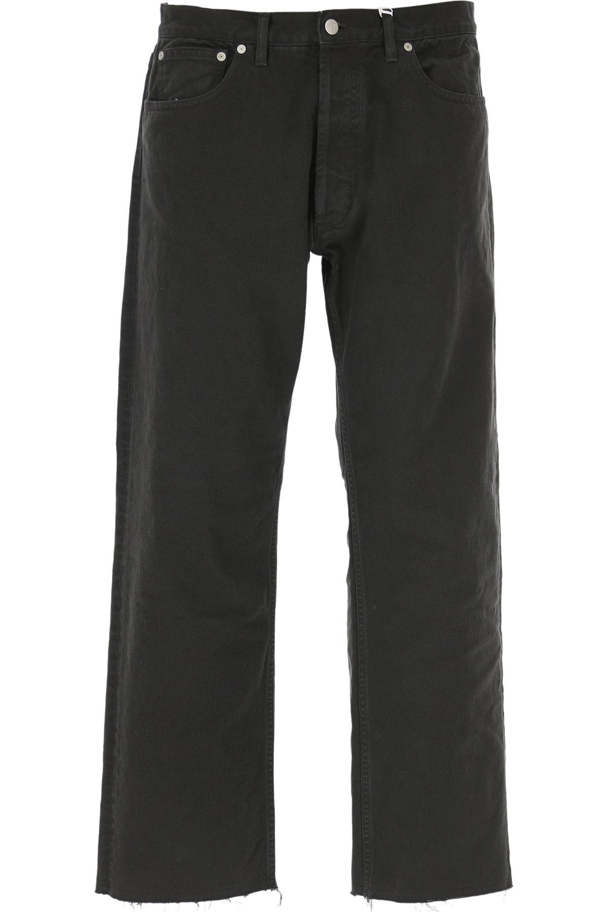 Maison Martin Margiela Jeans On Sale, Black, Cotton, 2019, 30 31 32 33 34 37 38