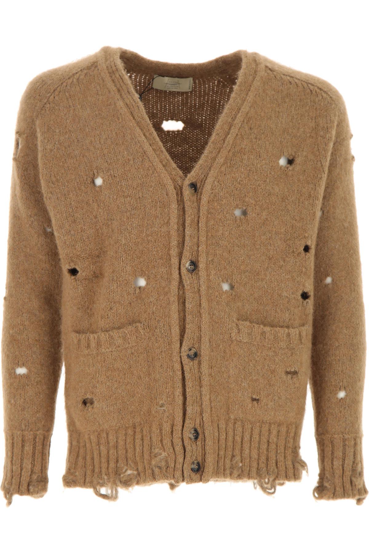 Image of Maison Flaneur Sweater for Men Jumper, Camel, alcapa, 2017, L M XL