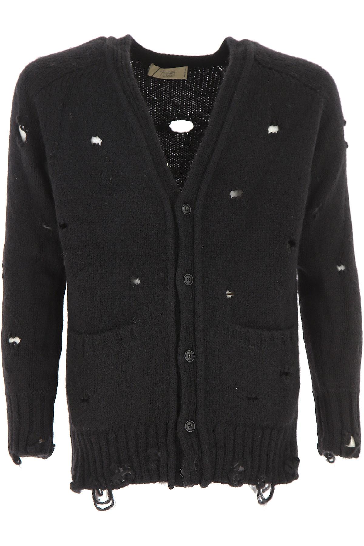 Image of Maison Flaneur Sweater for Men Jumper, Black, alpaca, 2017, L M XL
