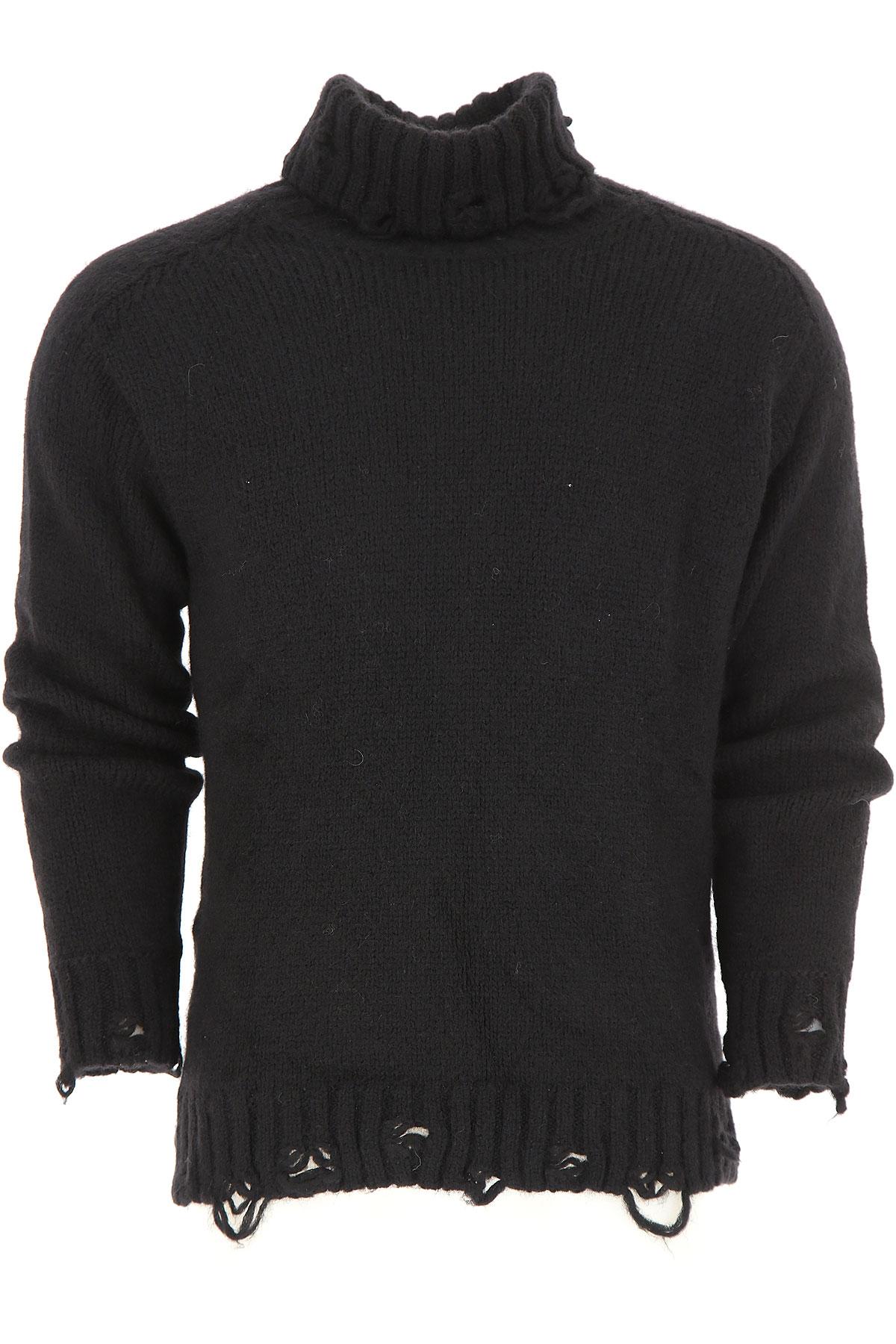 Image of Maison Flaneur Mens Clothing, Black, alpaca, 2017, 30 32 34 36