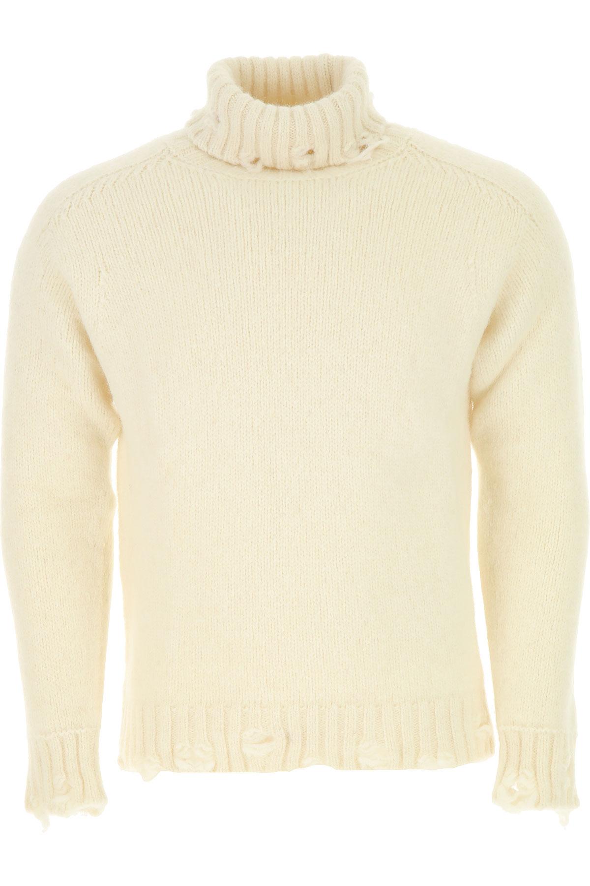 Image of Maison Flaneur Sweater for Men Jumper, White, alcapa, 2017, L M XL
