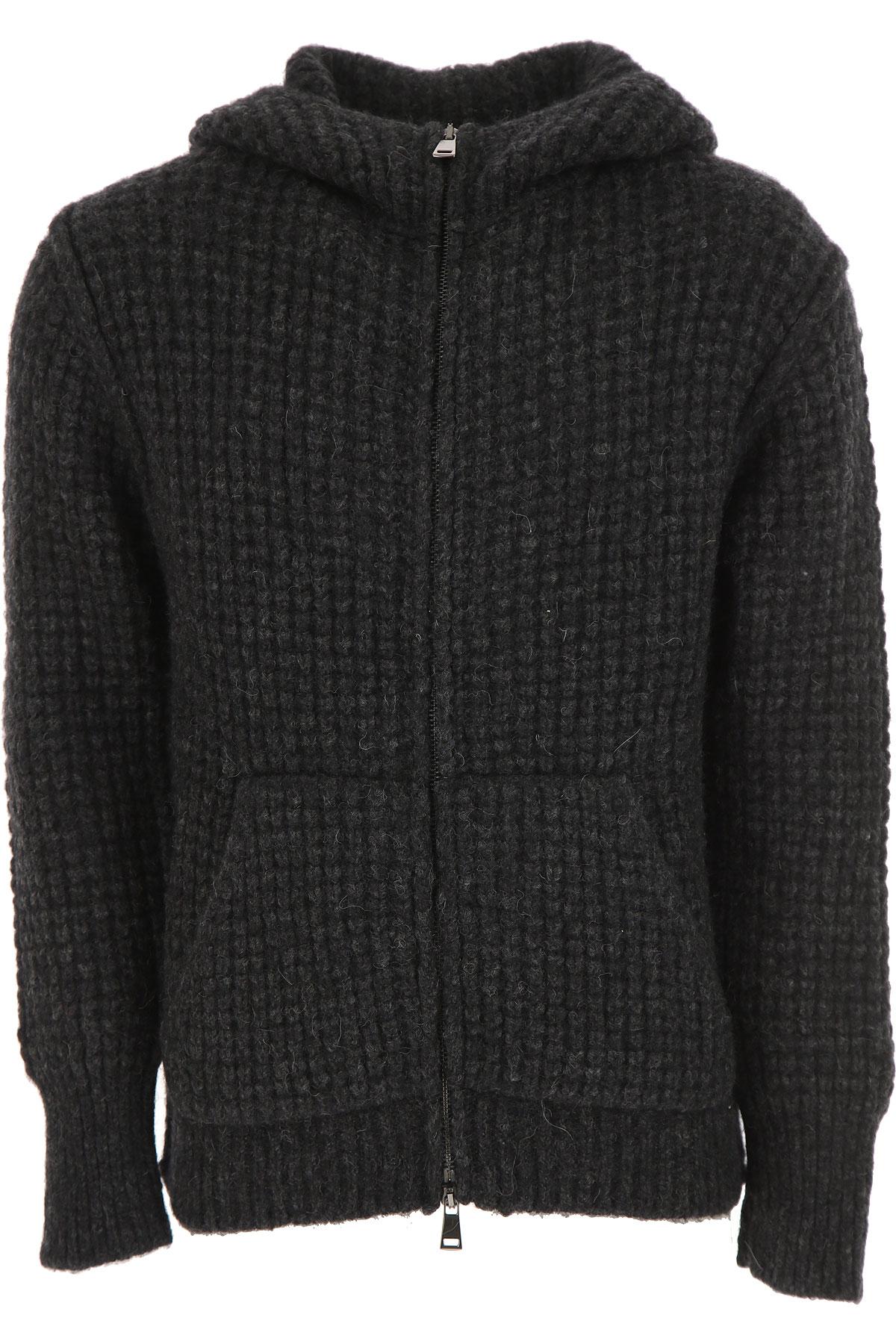 Image of Maison Flaneur Sweater for Men Jumper, antracite, alpaca, 2017, L M XL