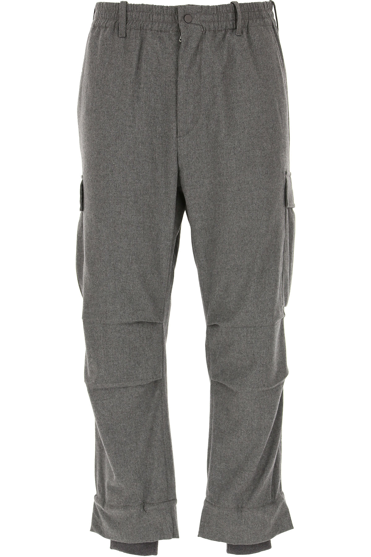 Maison Flaneur Pants for Men On Sale, Medium Grey, Viscose, 2019, 32 34 36