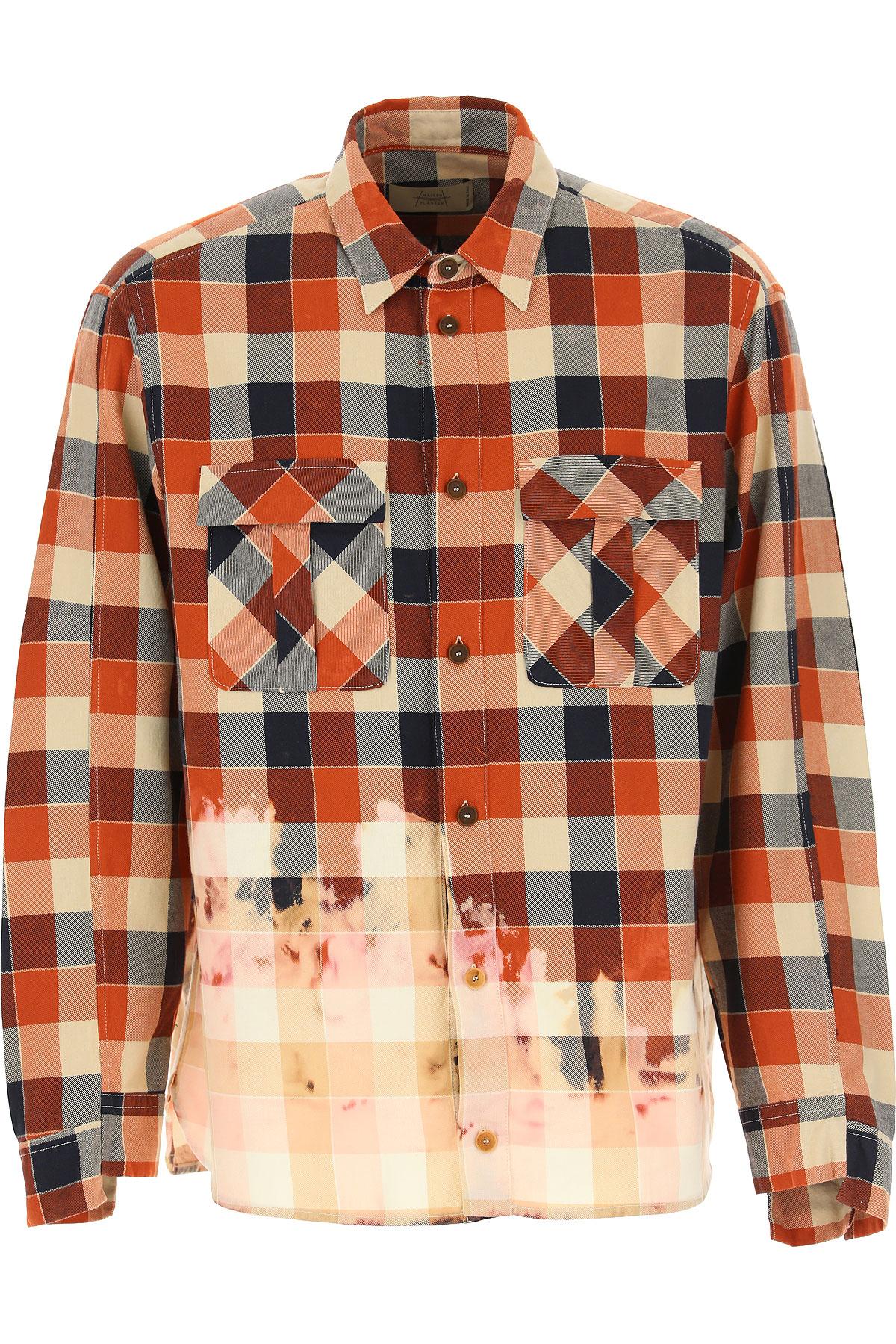 Maison Flaneur Shirt for Men On Sale, Autumn Colors, Cotton, 2019, S • IT 46 M • IT 48 L • IT 50 XL • IT 52