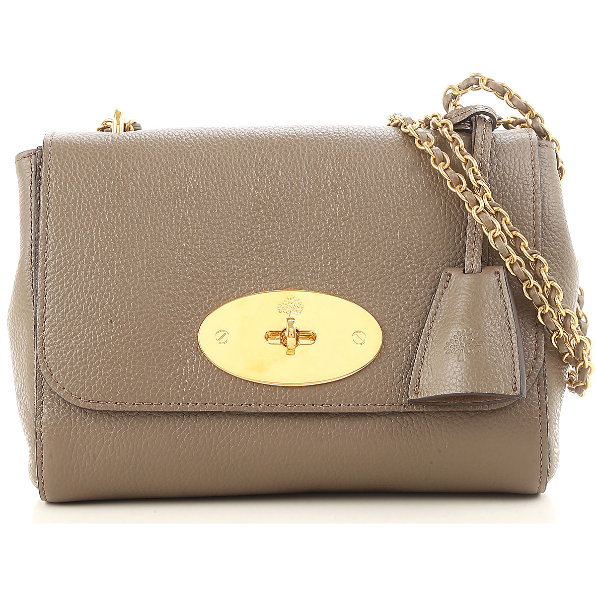 Mulberry Shoulder Bag for Women On Sale, Turtledove, Leather, 2019