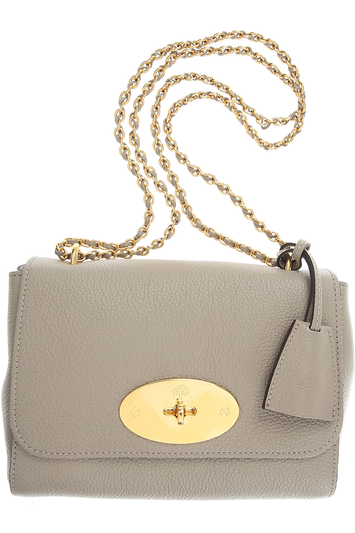Mulberry Shoulder Bag for Women On Sale, Solid Grey, Leather, 2019