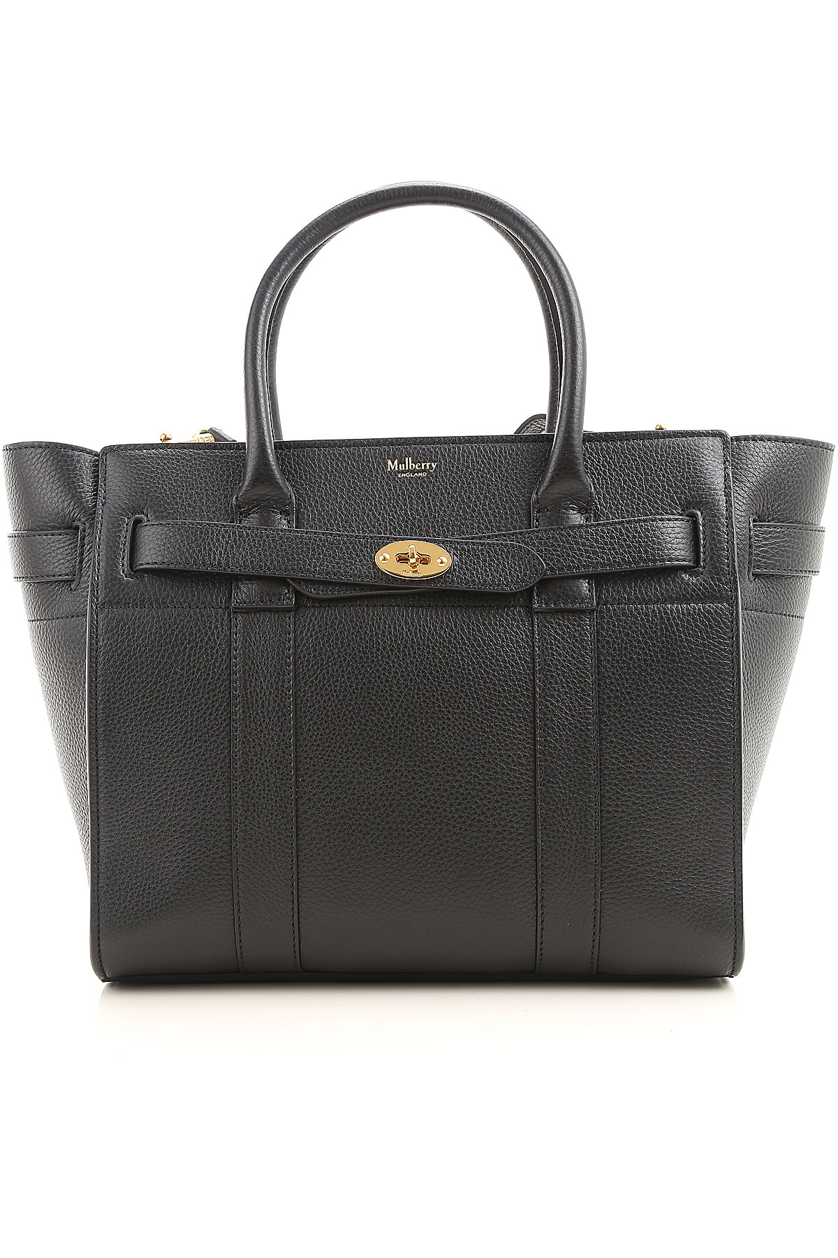 Mulberry Tote Bag On Sale, Black, Leather, 2019