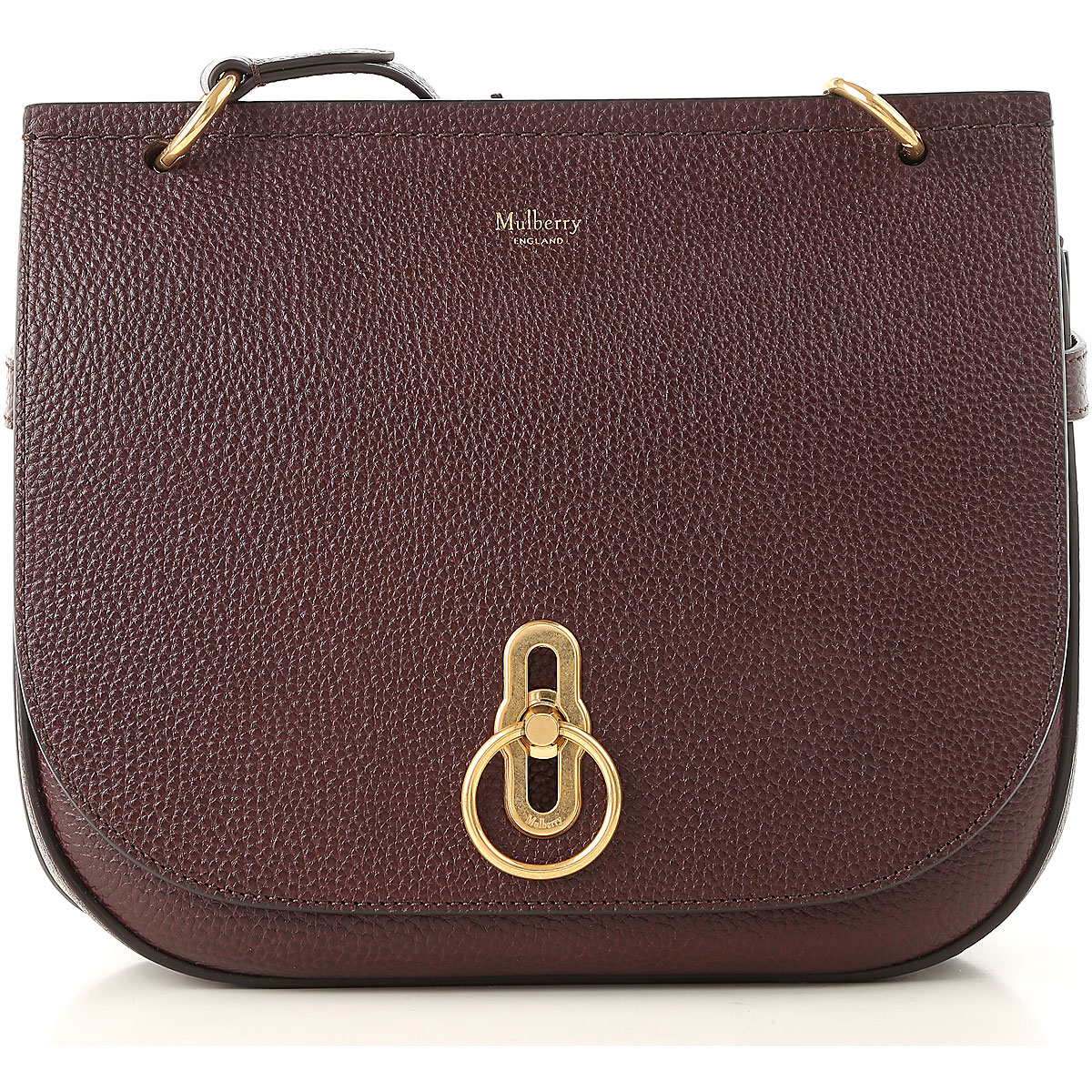 Image of Mulberry Shoulder Bag for Women, Bordeaux, Leather, 2017