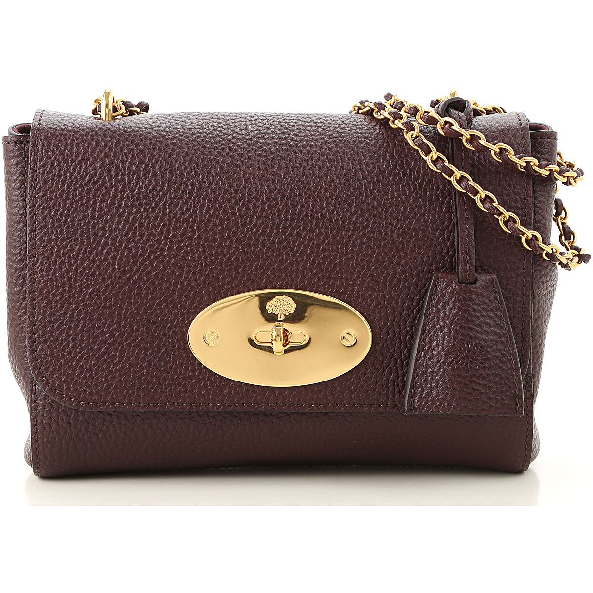 Mulberry Shoulder Bag for Women On Sale, oxblood, Leather, 2019
