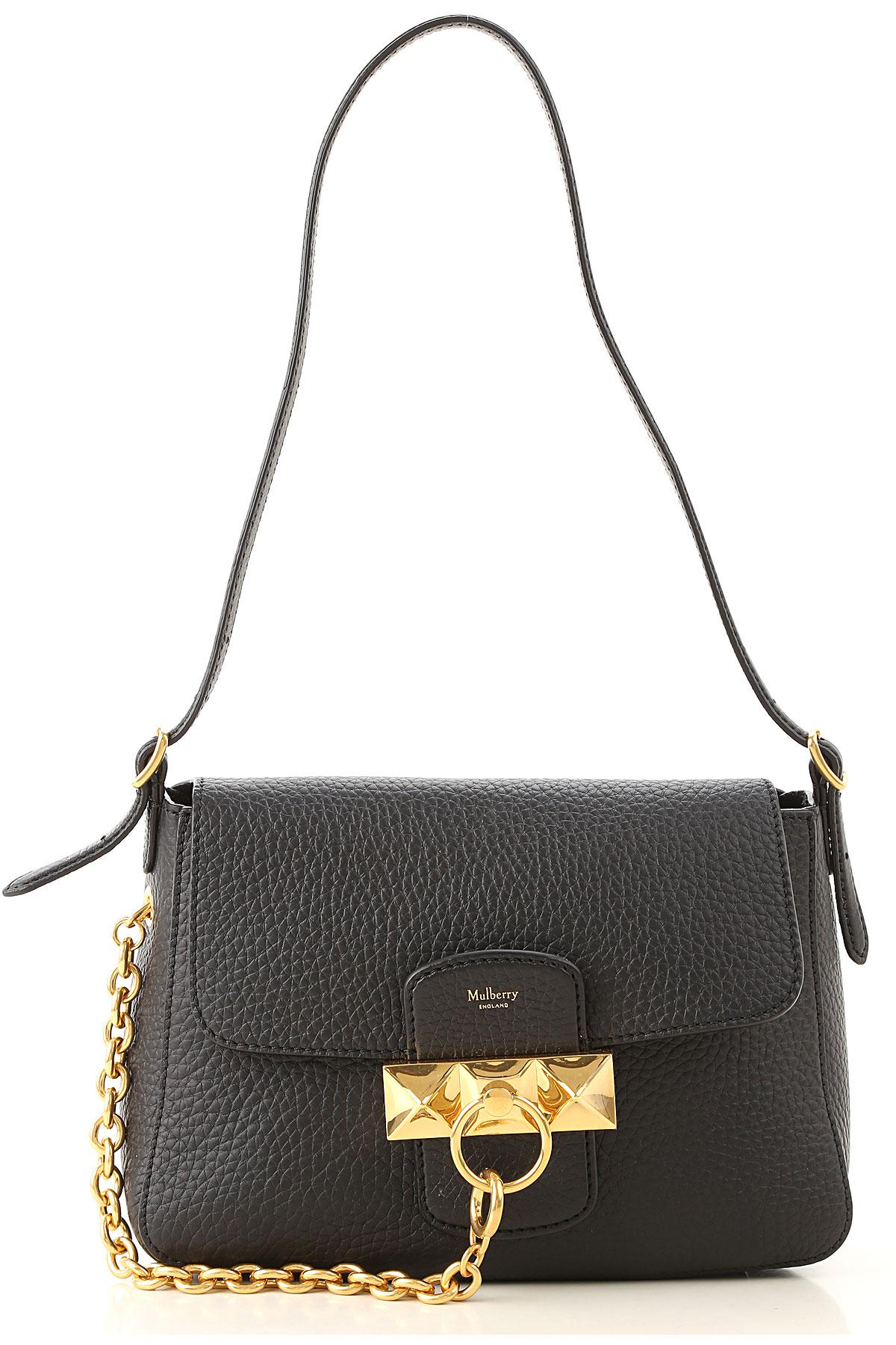 Mulberry Shoulder Bag for Women On Sale, Black, Leather, 2019