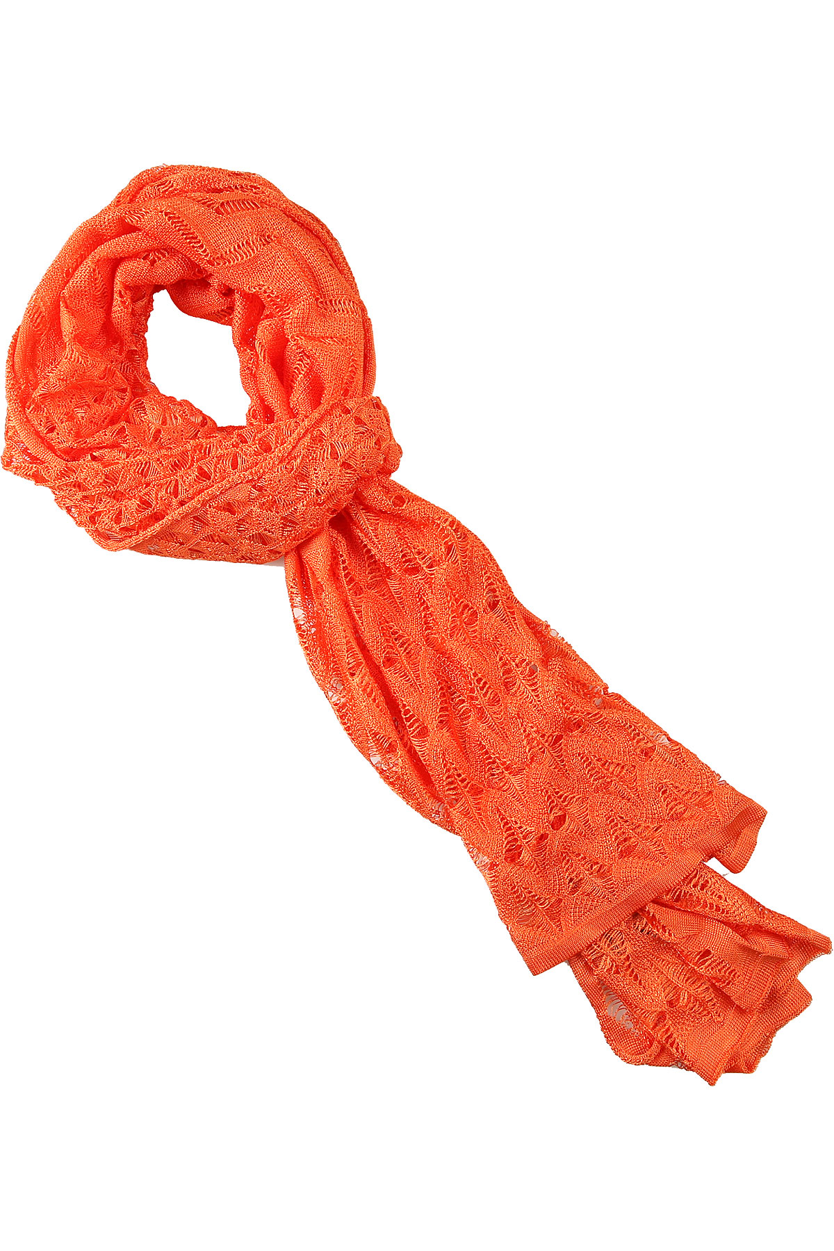 Missoni Scarf for Women On Sale, Orange, Viscose, 2019