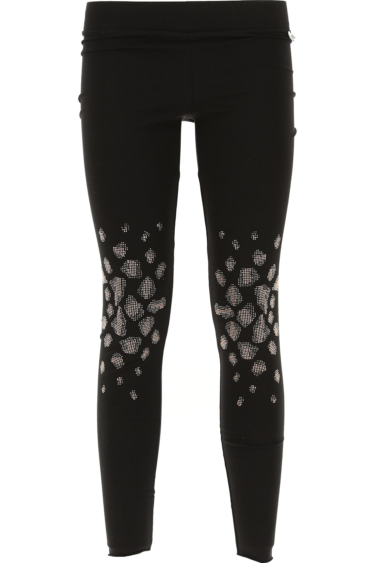 Image of Met Pants for Women On Sale in Outlet, Black, Cotton, 2017, 4 8