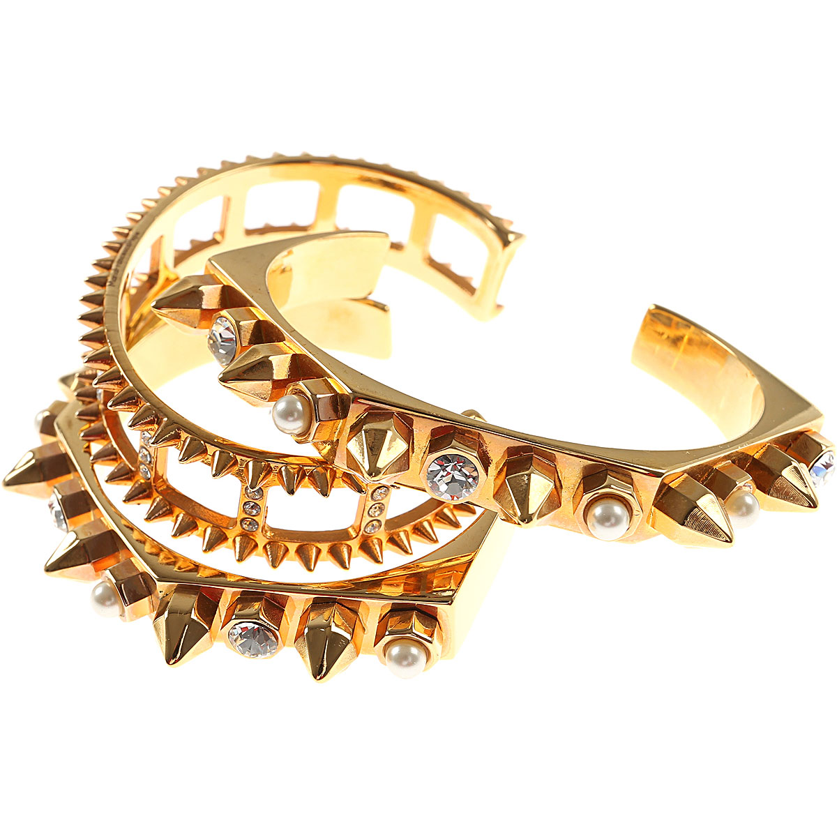 Image of Mawi Bracelet for Women, Yellow Gold, Brass, 2017