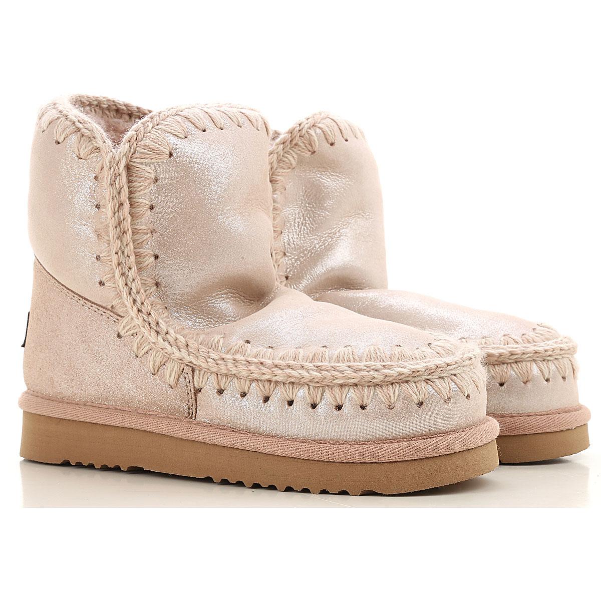 Mou Boots for Women, Booties On Sale, Rose, Suede leather, 2019, EUR 38 - UK 5 - USA 7 EUR 36 - UK 3 - USA 5.5 EUR 37 - UK 4 - USA 6.5 EUR 38 - UK 5 -