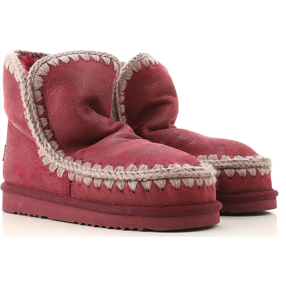 Mou Boots for Women, Booties On Sale, Black Cherry, Suede leather, 2019, EUR 37 - UK 4 - USA 6.5 EUR 39 - UK 6 - USA 8.5 EUR 40 - UK 7 - USA 9.5