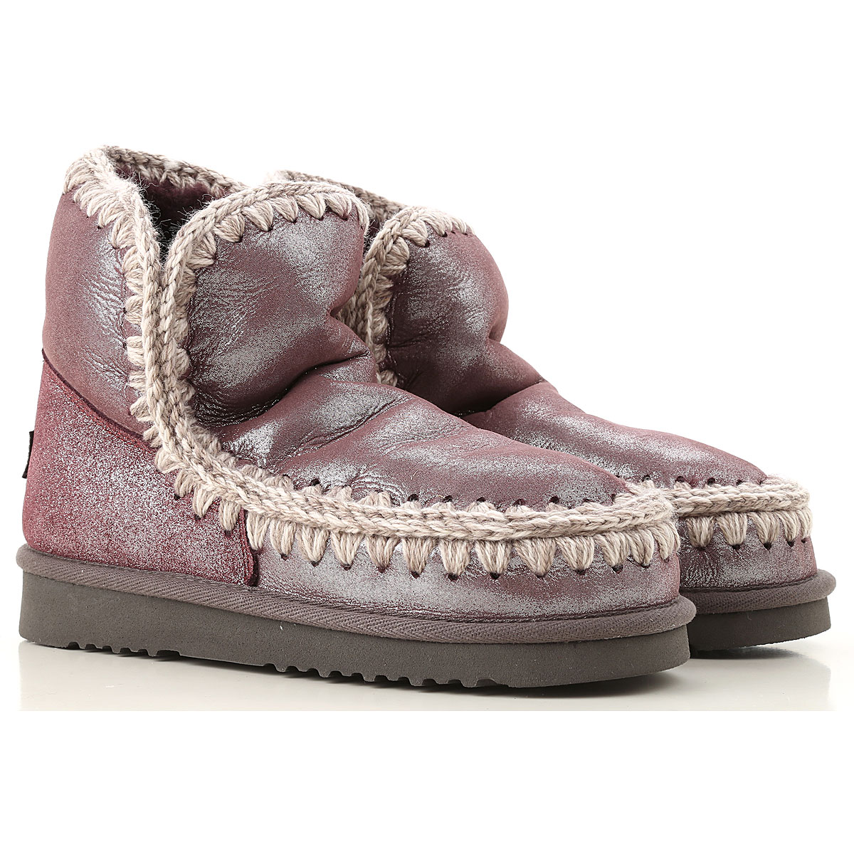 Image of Mou Boots for Women, Booties, Wine, suede, 2017, EUR 36 - UK 3 - USA 5.5 EUR 37 - UK 4 - USA 6.5 EUR 38 - UK 5 - USA 7.5 EUR 39 - UK 6 - USA 8.5