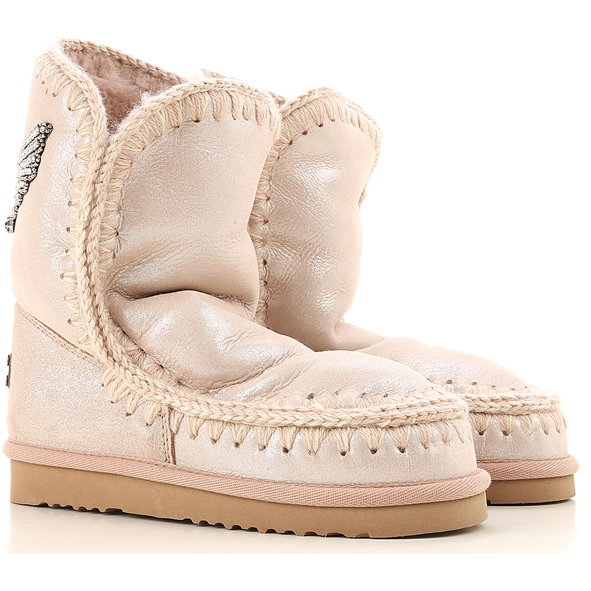 Mou Boots for Women, Booties On Sale, Rose, Suede leather, 2019, EUR 36 - UK 3 - USA 5.5 EUR 38 - UK 5 - USA 7.5 EUR 39 - UK 6 - USA 8.5 EUR 40 - UK 7