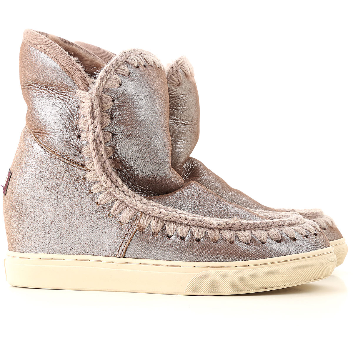 Mou Boots for Women, Booties On Sale in Outlet, Brown, Leather, 2019, EUR 37 - UK 4 - USA 6.5 EUR 38 - UK 5 - USA 7.5 EUR 39 - UK 6 - USA 8.5