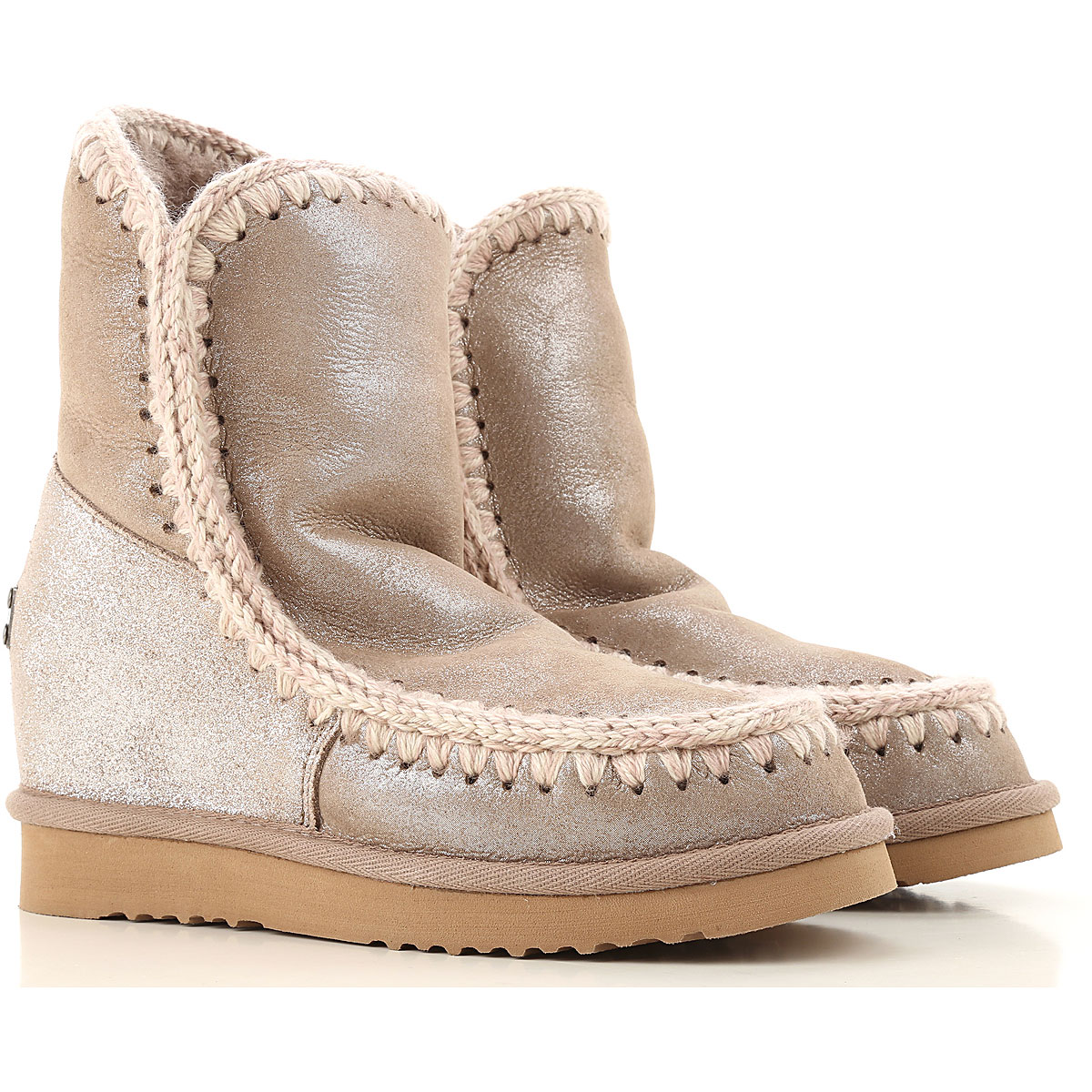 Mou Boots for Women, Booties On Sale, Grey, Leather, 2019, Eu 35 EUR 36 - UK 3 - USA 5.5 EUR 38 - UK 5 - USA 7.5 EUR 40 - UK 7 - USA 9.5