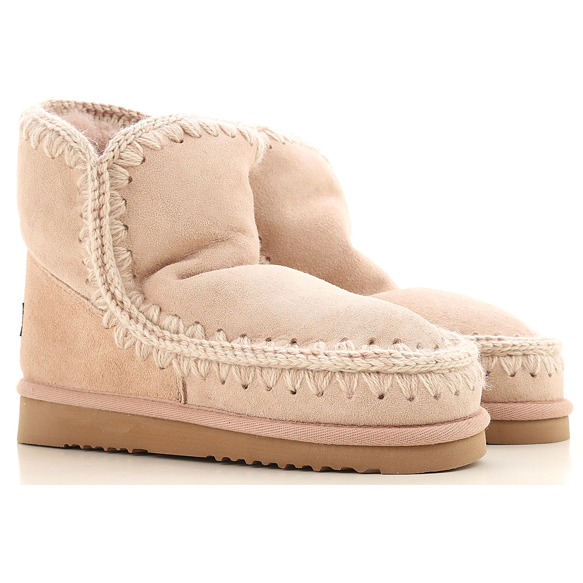Mou Boots for Women, Booties On Sale, Rose, Suede leather, 2019, EUR 36 - UK 3 - USA 5.5 EUR 37 - UK 4 - USA 6.5